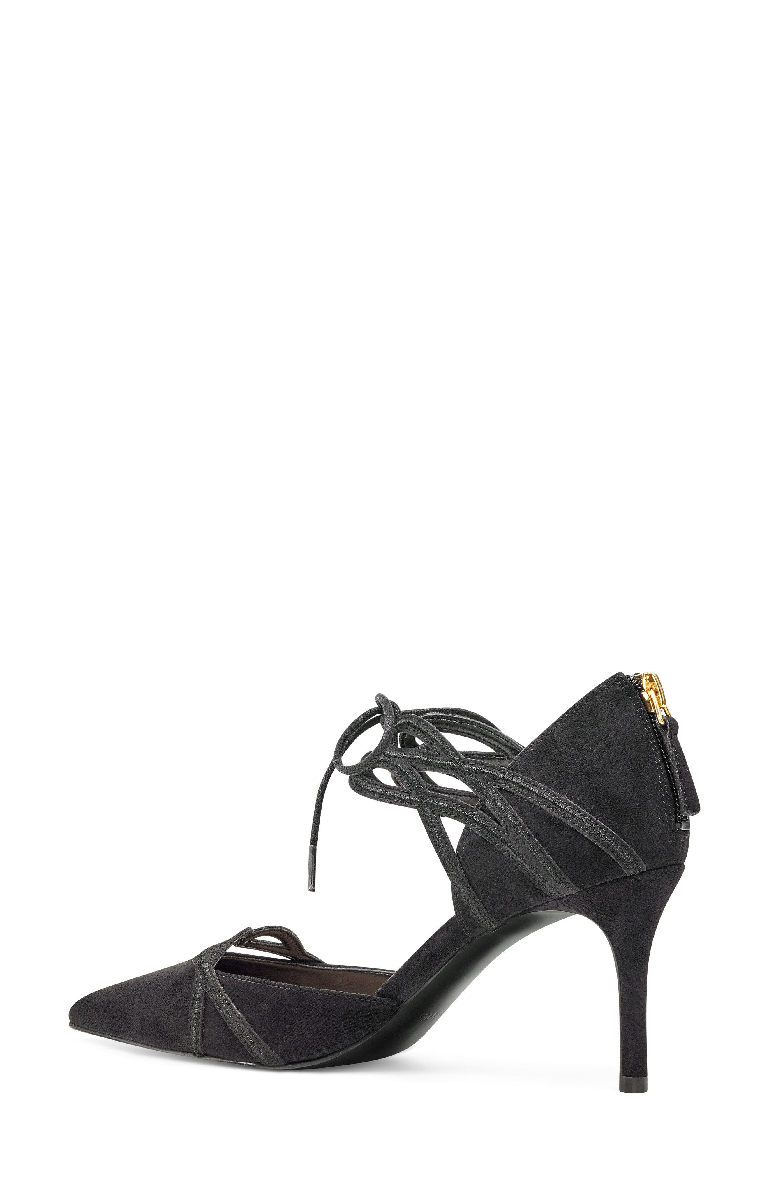 Alternate Image 2  - Nine West Mayeff Ankle Tie Pump (Women)