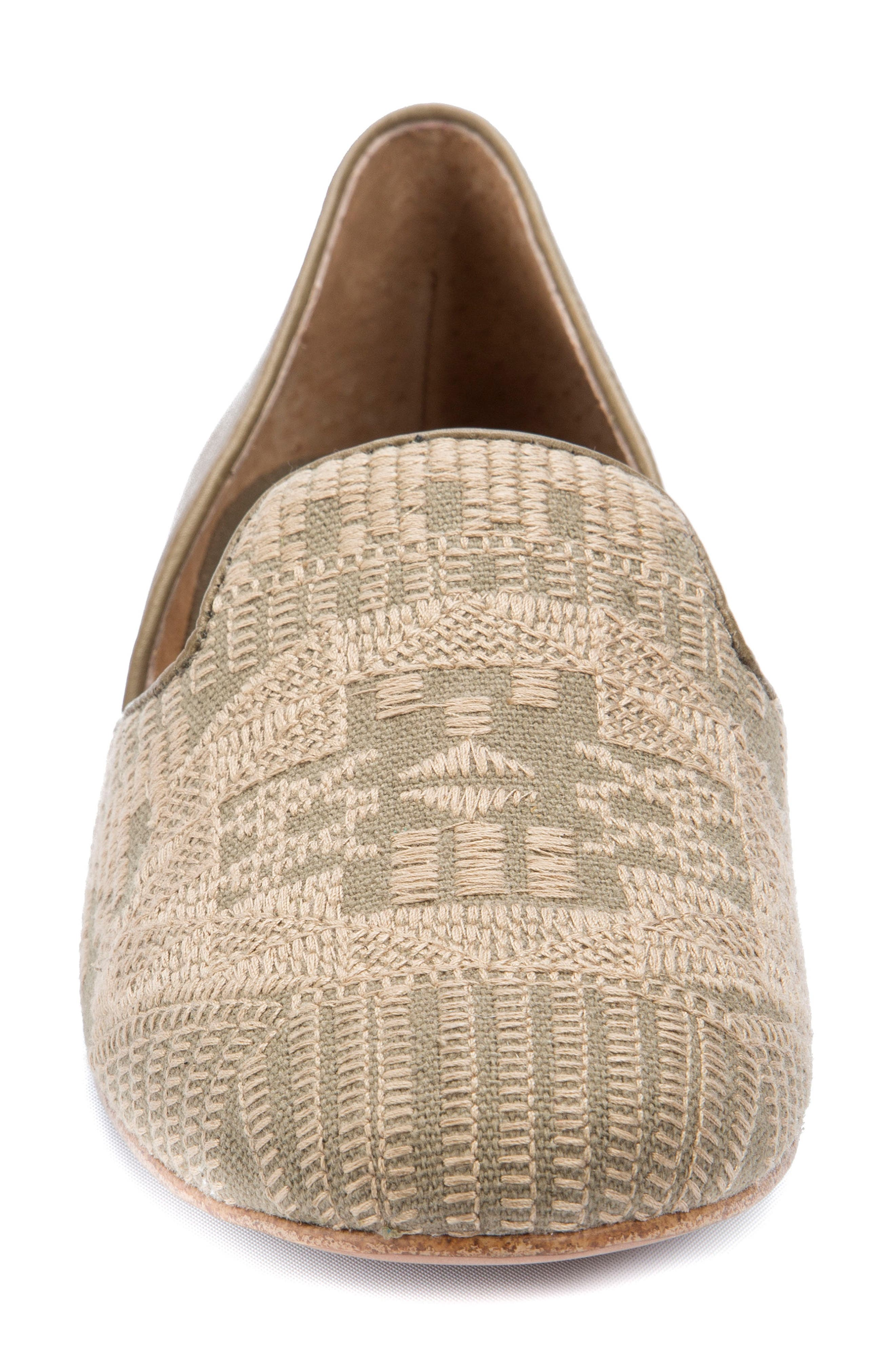 Alternate Image 4  - Latigo Alba Embroidered Flat (Women)