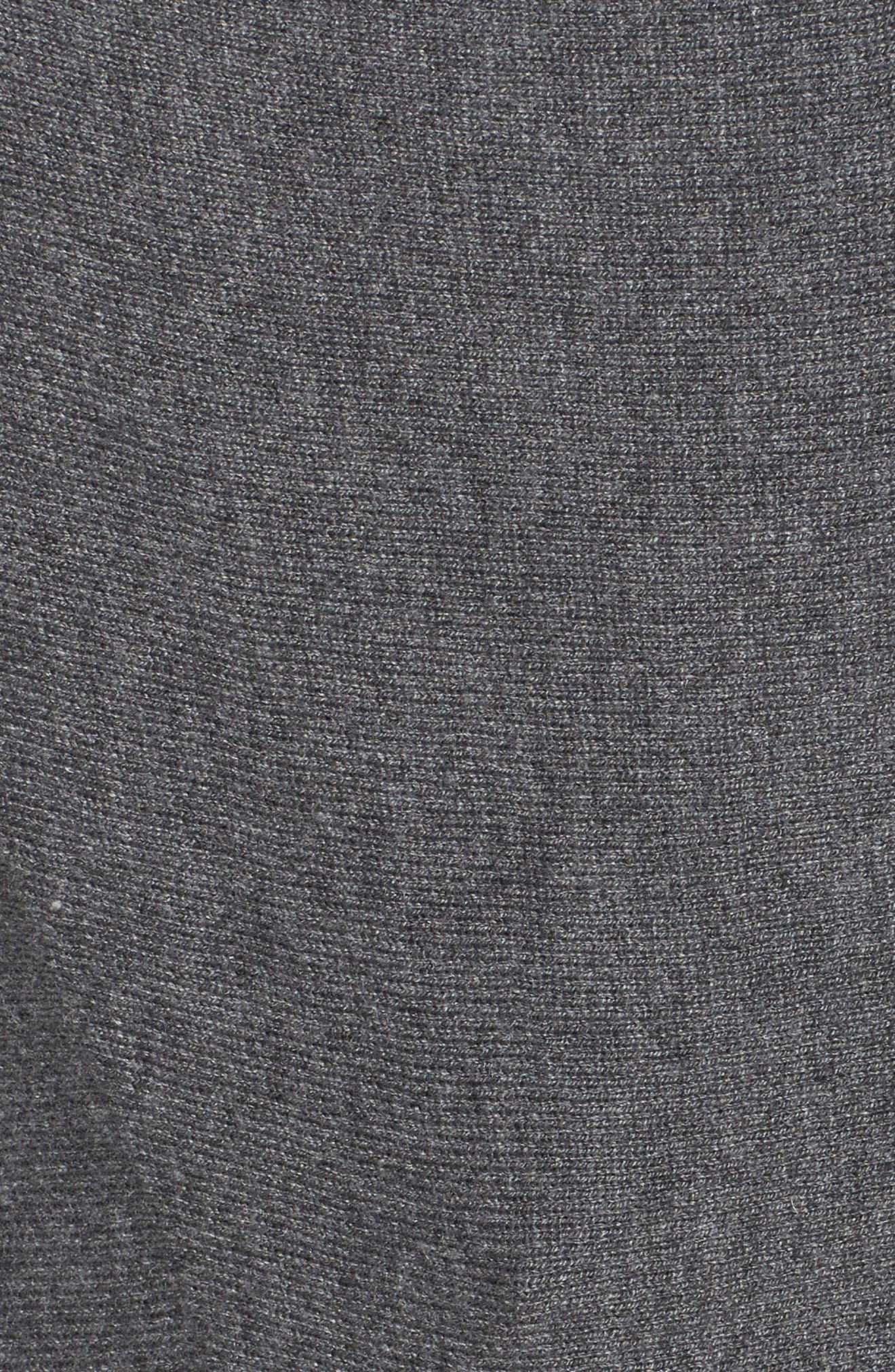 Alternate Image 5  - Sejour Button Sleeve Sweater (Plus Size)
