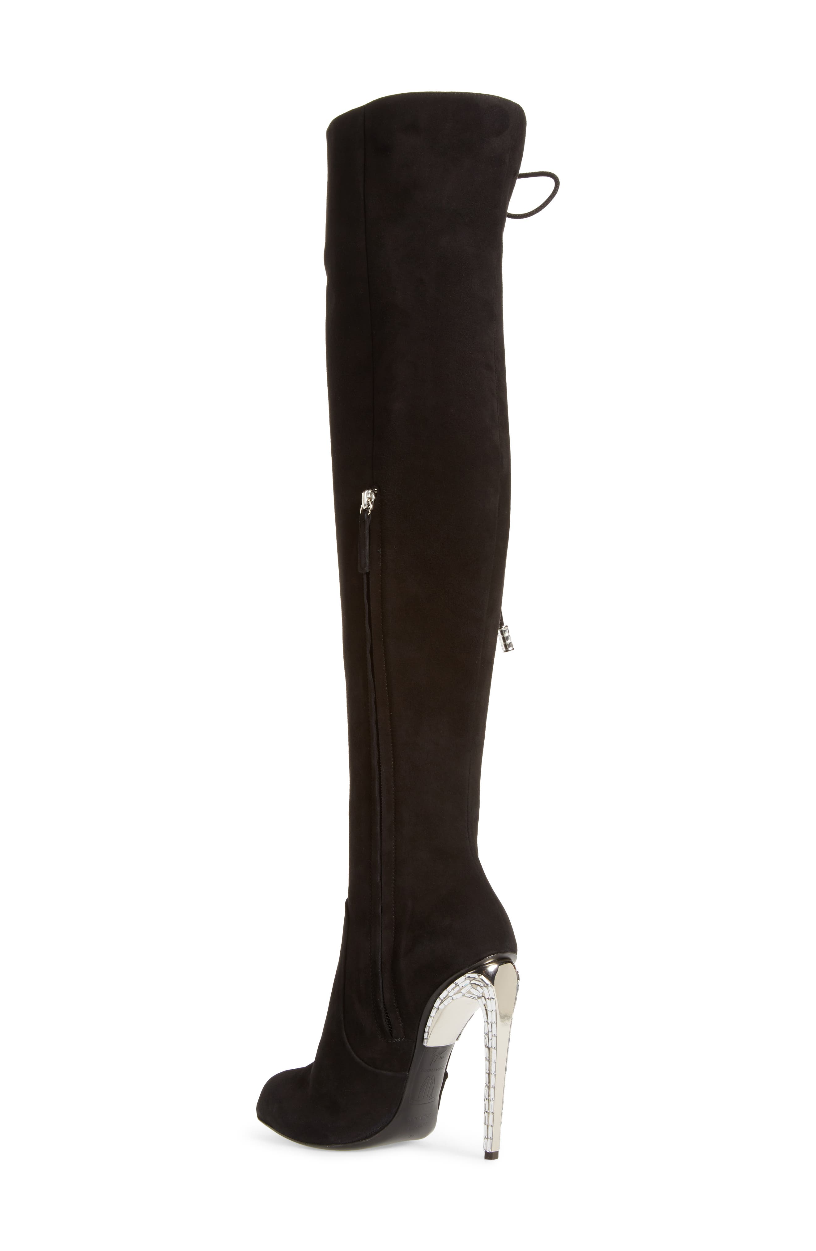 Alternate Image 2  - Giuseppe for Jennifer Lopez Lace-Up Over the Knee Boot (Women)