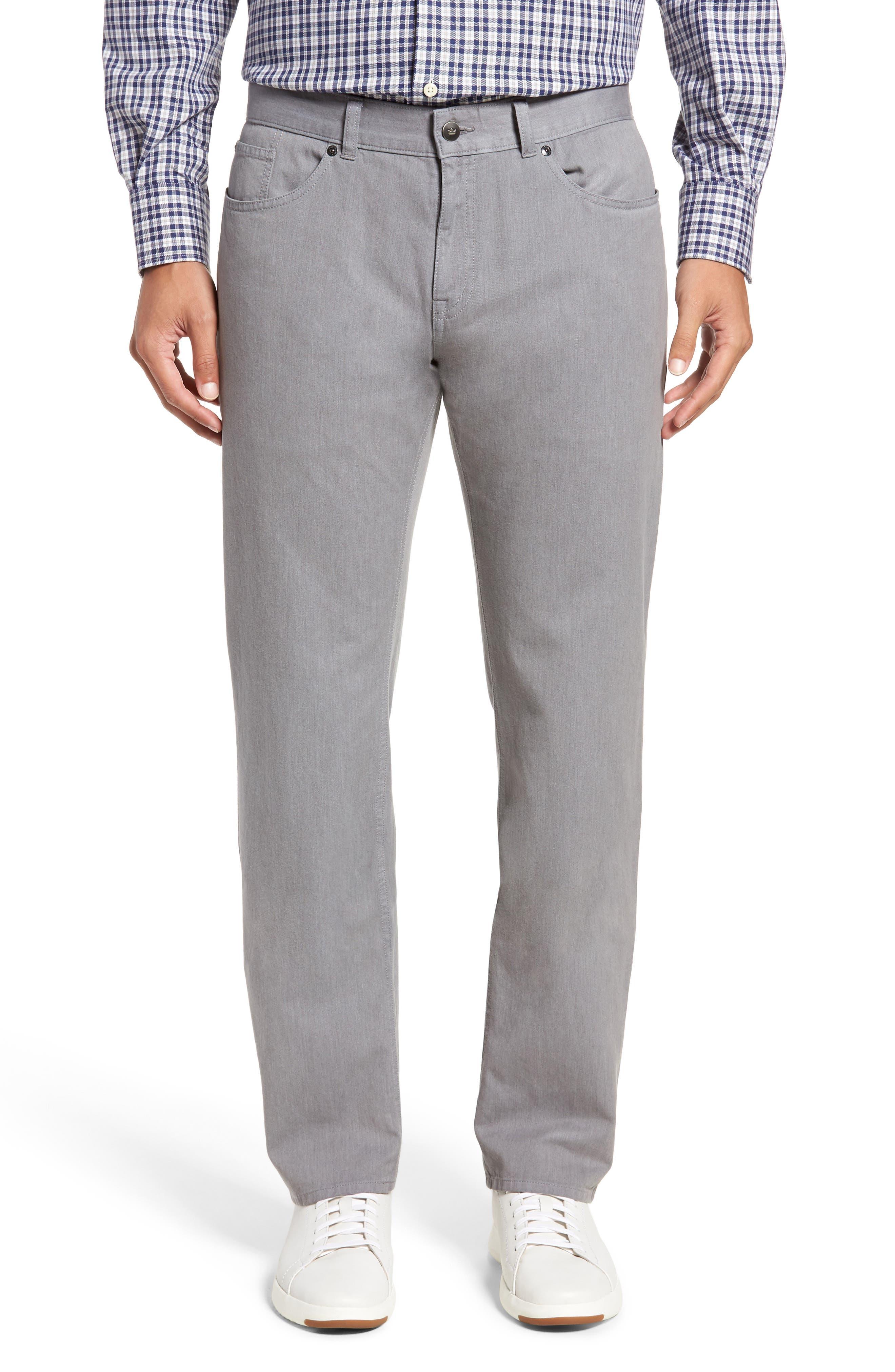 Mélange Five-Pocket Pants,                         Main,                         color, Stingray