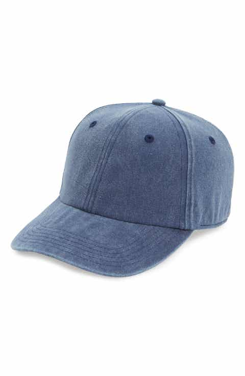 treasure bond canvas baseball cap chambray washed dark denim amazon levi caps brandy melville