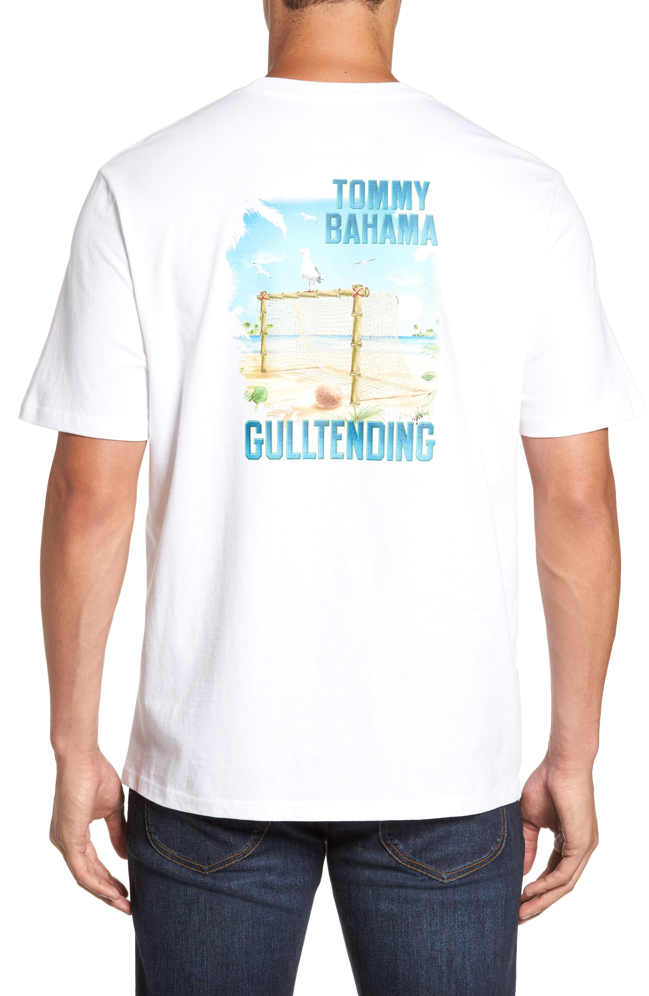 Alternate Image 1 Selected - Tommy Bahama Gull Tending Standard Fit T-Shirt