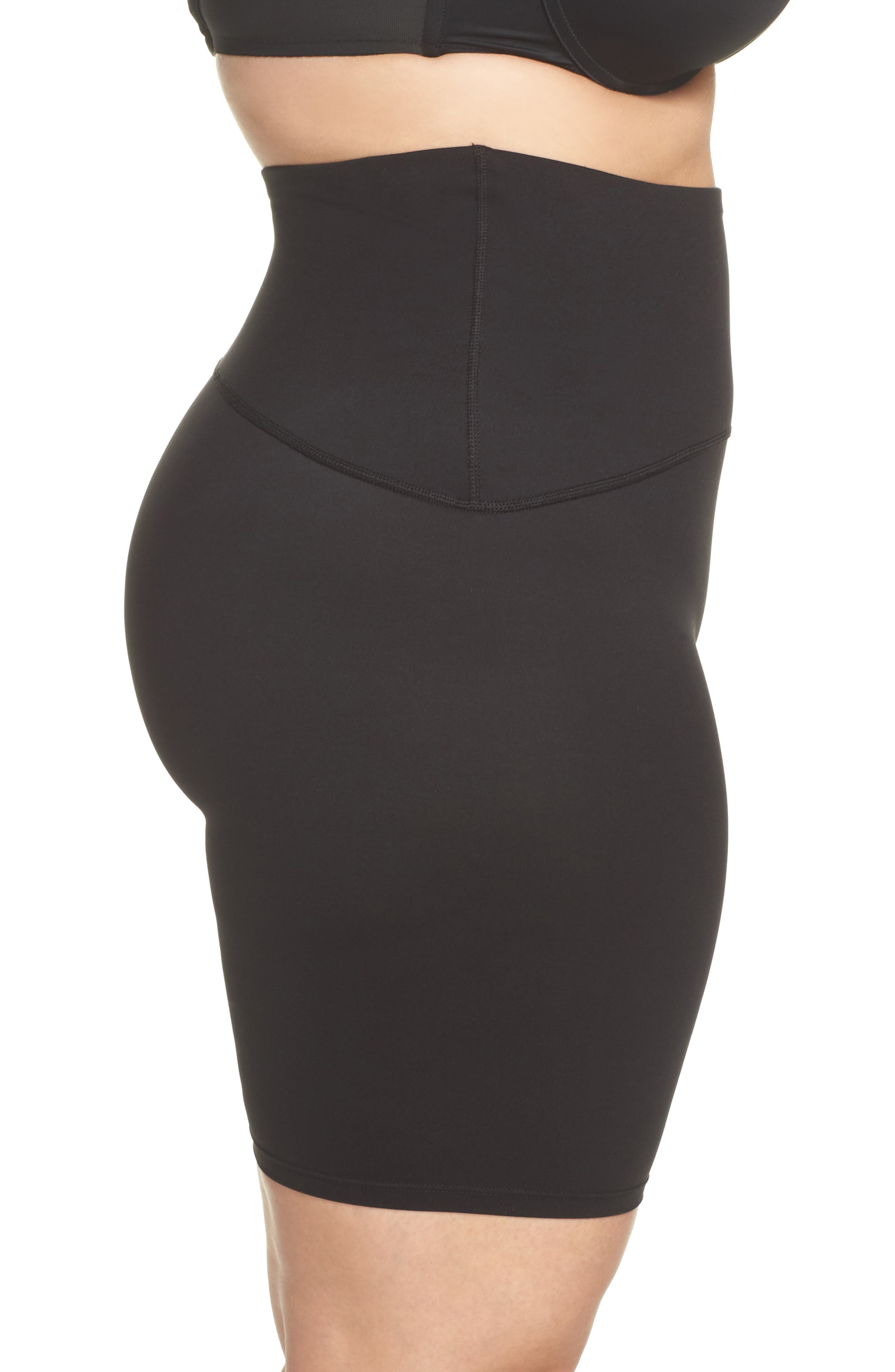 Alternate Image 3  - SPANX® Sport Compression Shorts (Plus Size)