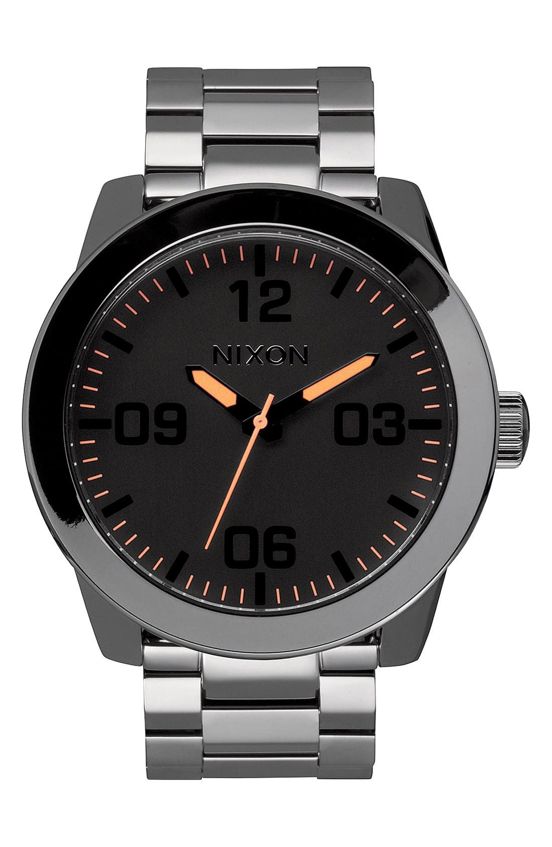 Alternate Image 1 Selected - Nixon 'The Corporal' Bracelet Watch, 48mm