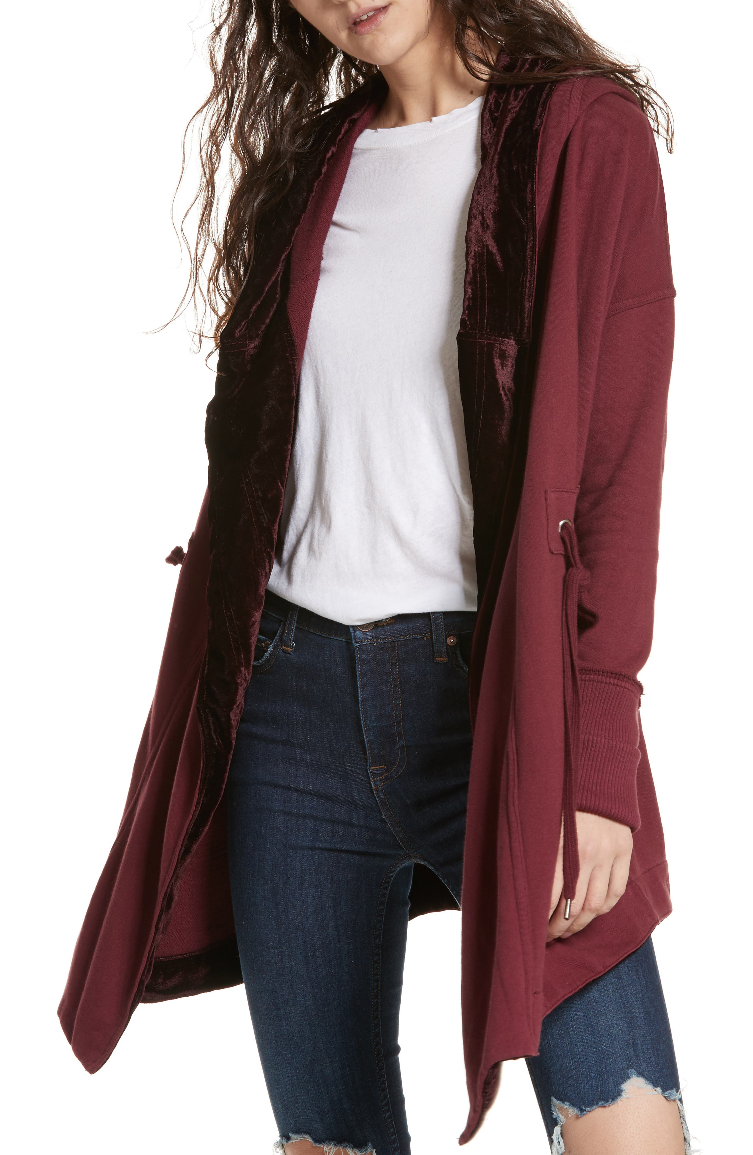 Westwood Cardigan,                             Main thumbnail 1, color,                             Wine