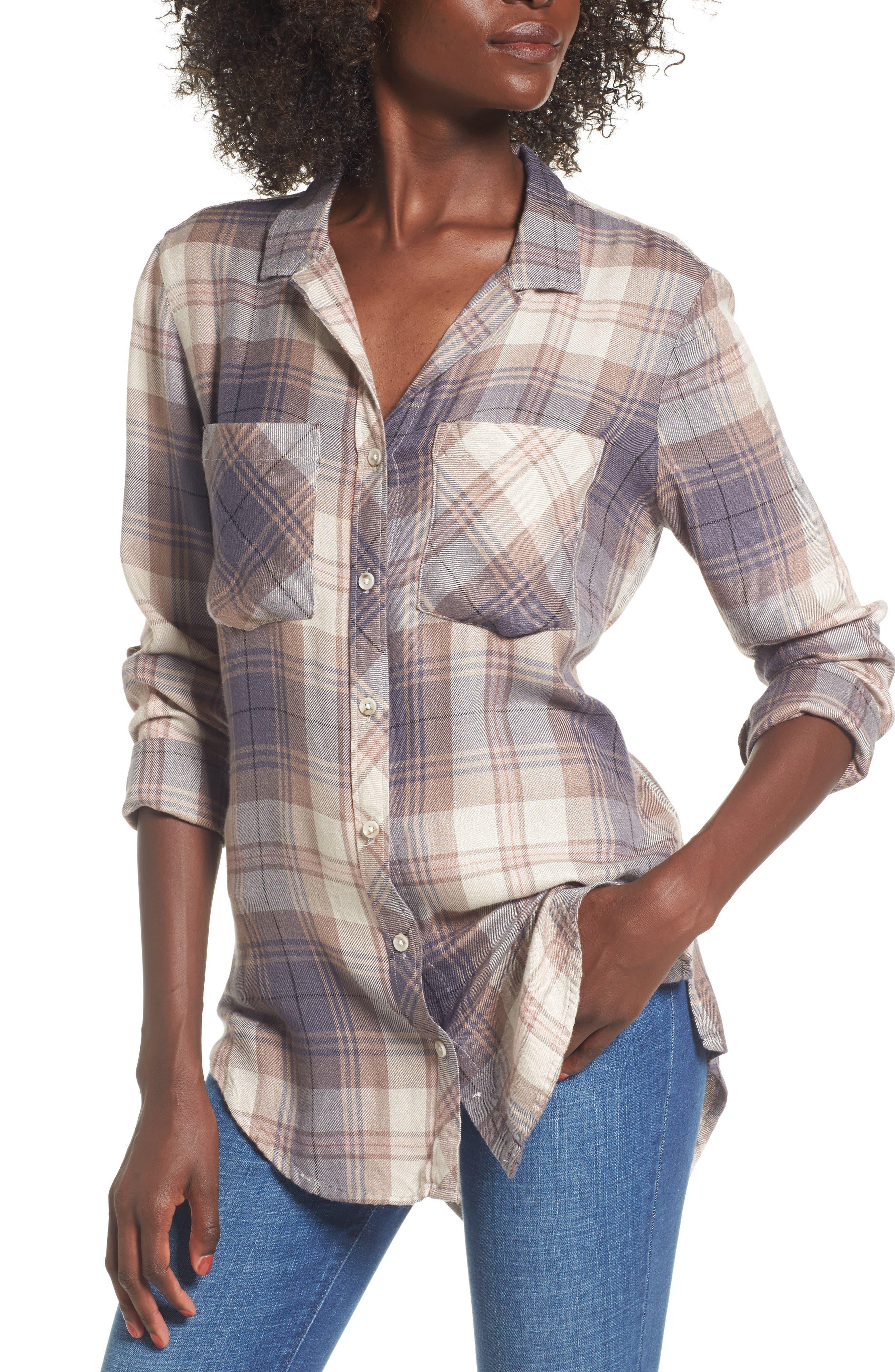 Thread & Supply Thea Plaid Shirt