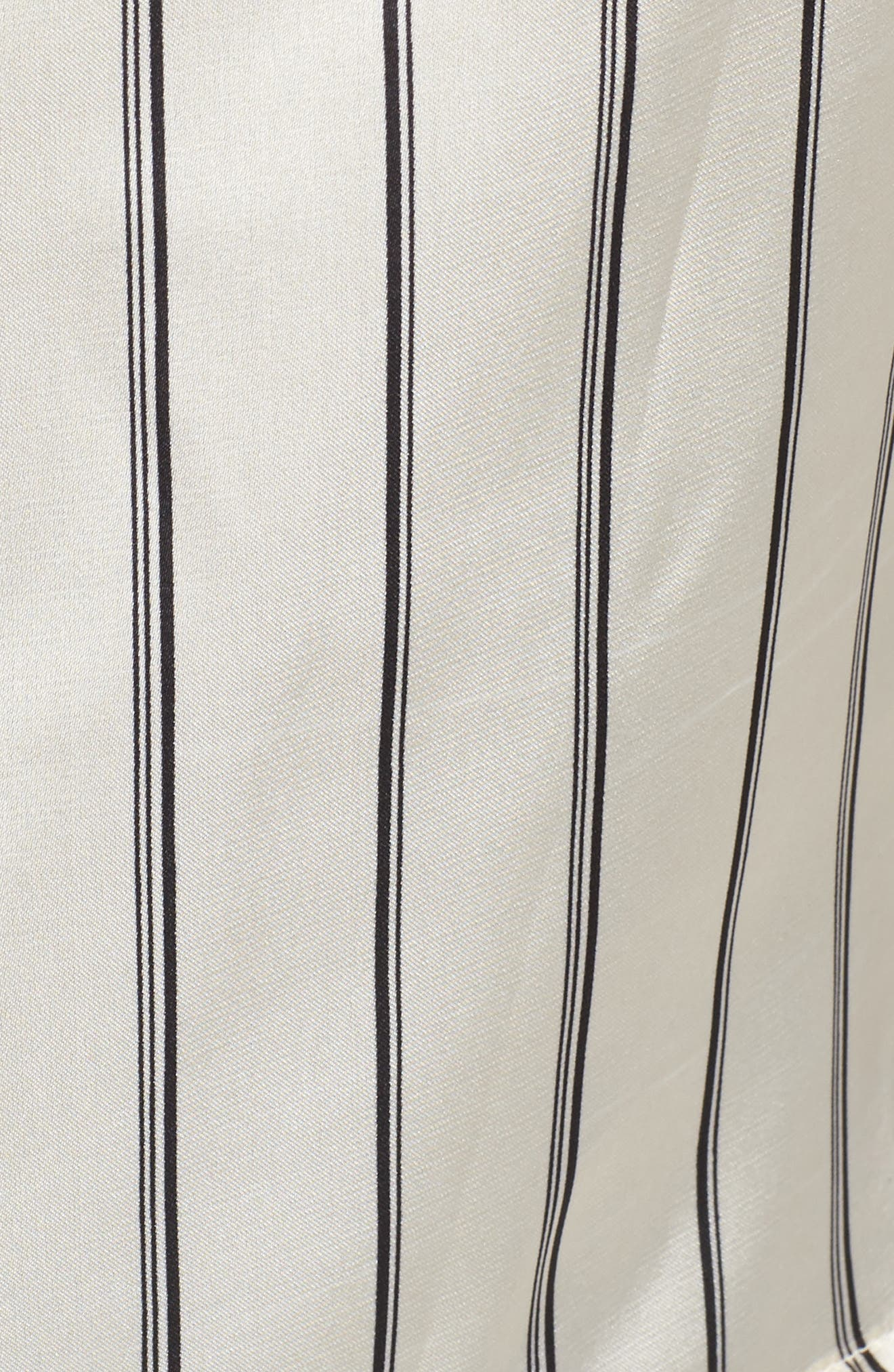 Alternate Image 5  - J.O.A. Stripe Satin Blouse