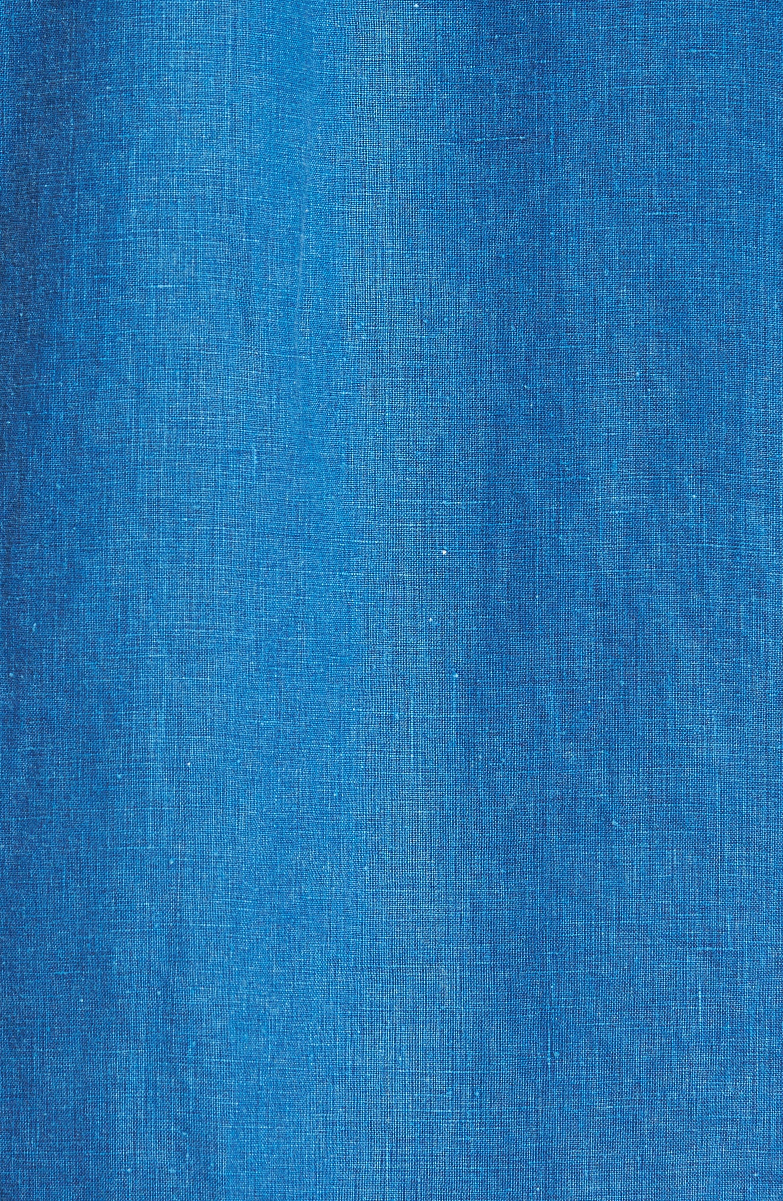 Alternate Image 5  - Tommy Bahama Sea Glass Breezer Linen Sport Shirt