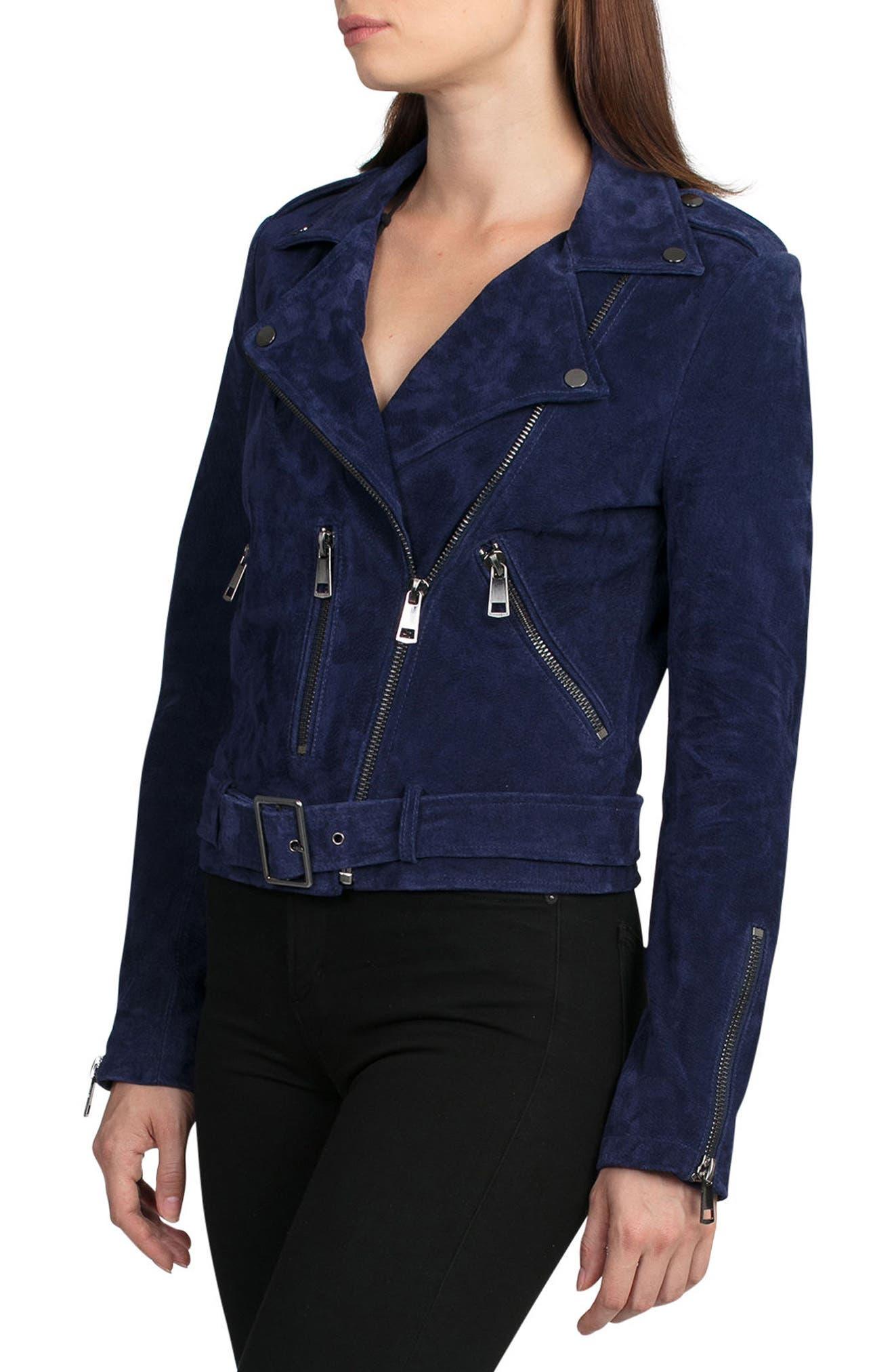 Alternate Image 3  - Bagatelle Suede Jacket