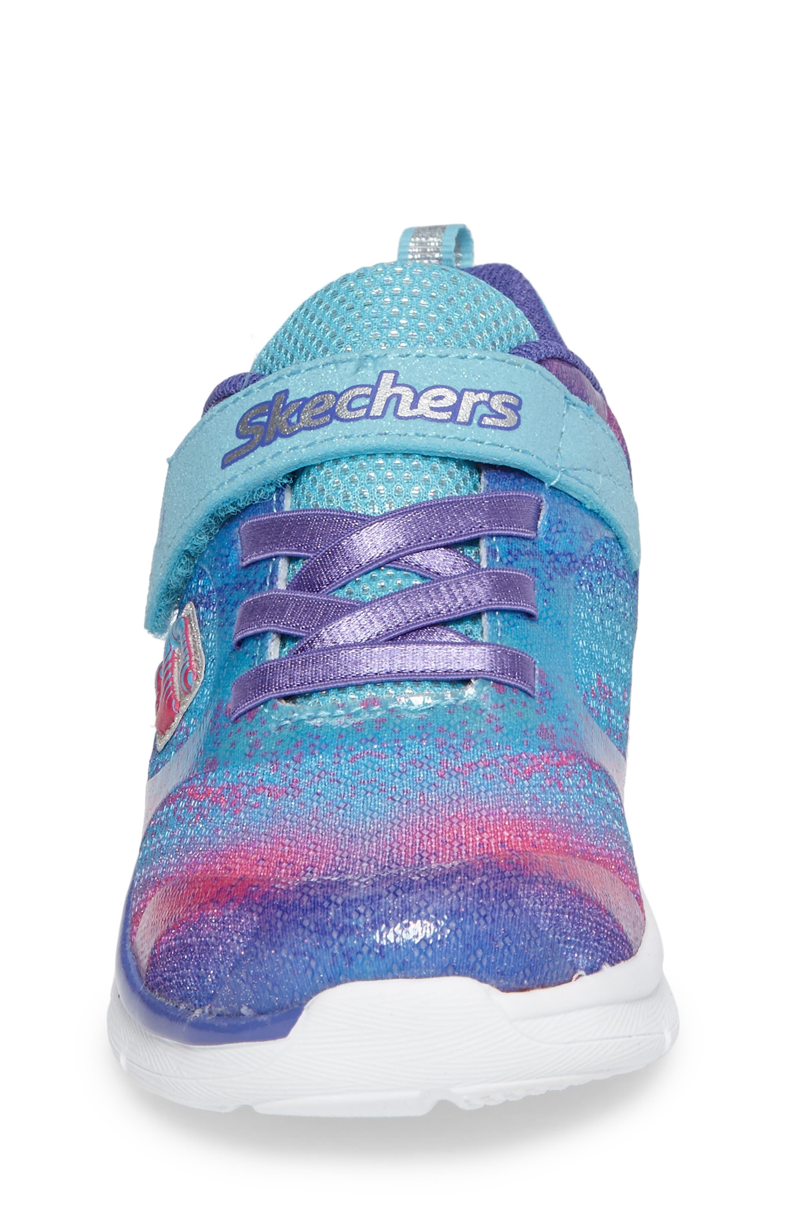 Alternate Image 4  - SKECHERS Skech-Lite Colorful Cutie Sneaker (Walker & Toddler)