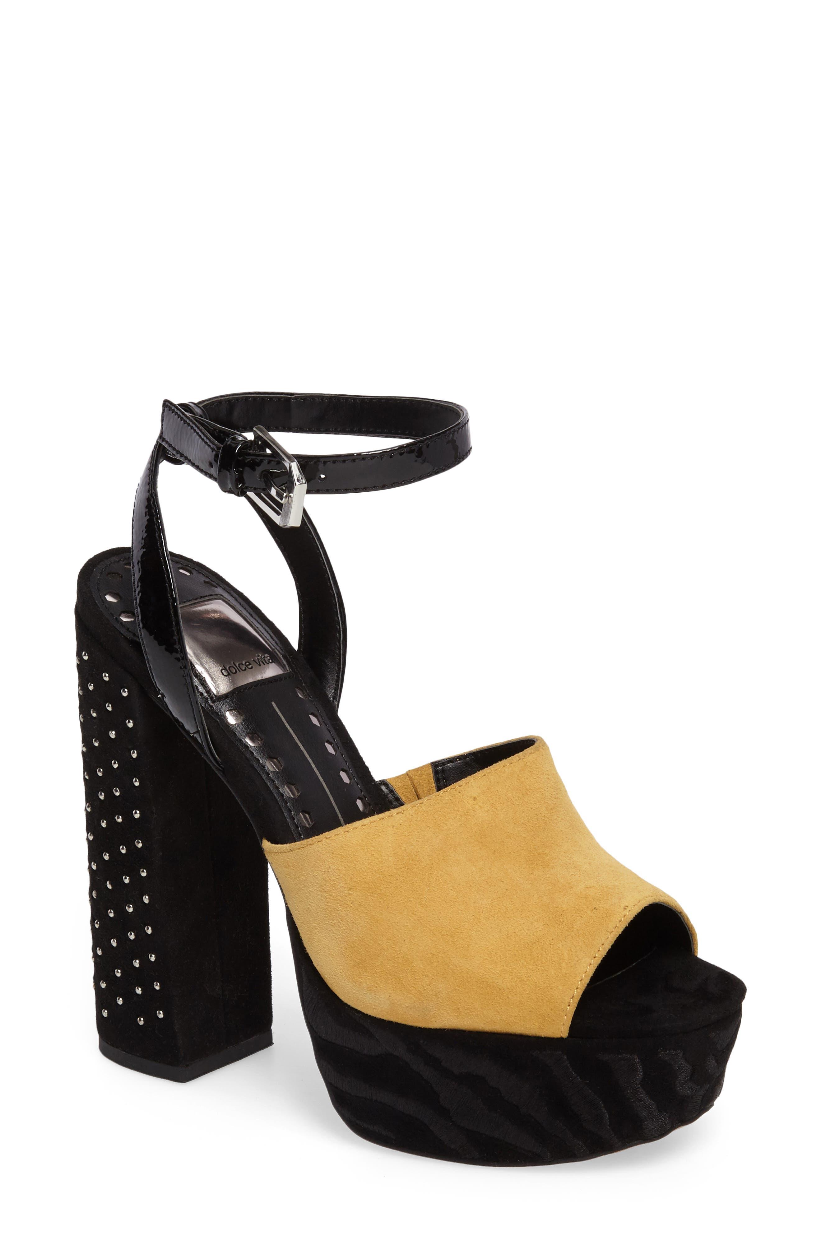 Alternate Image 1 Selected - Dolce Vita Platform Sandal (Women)