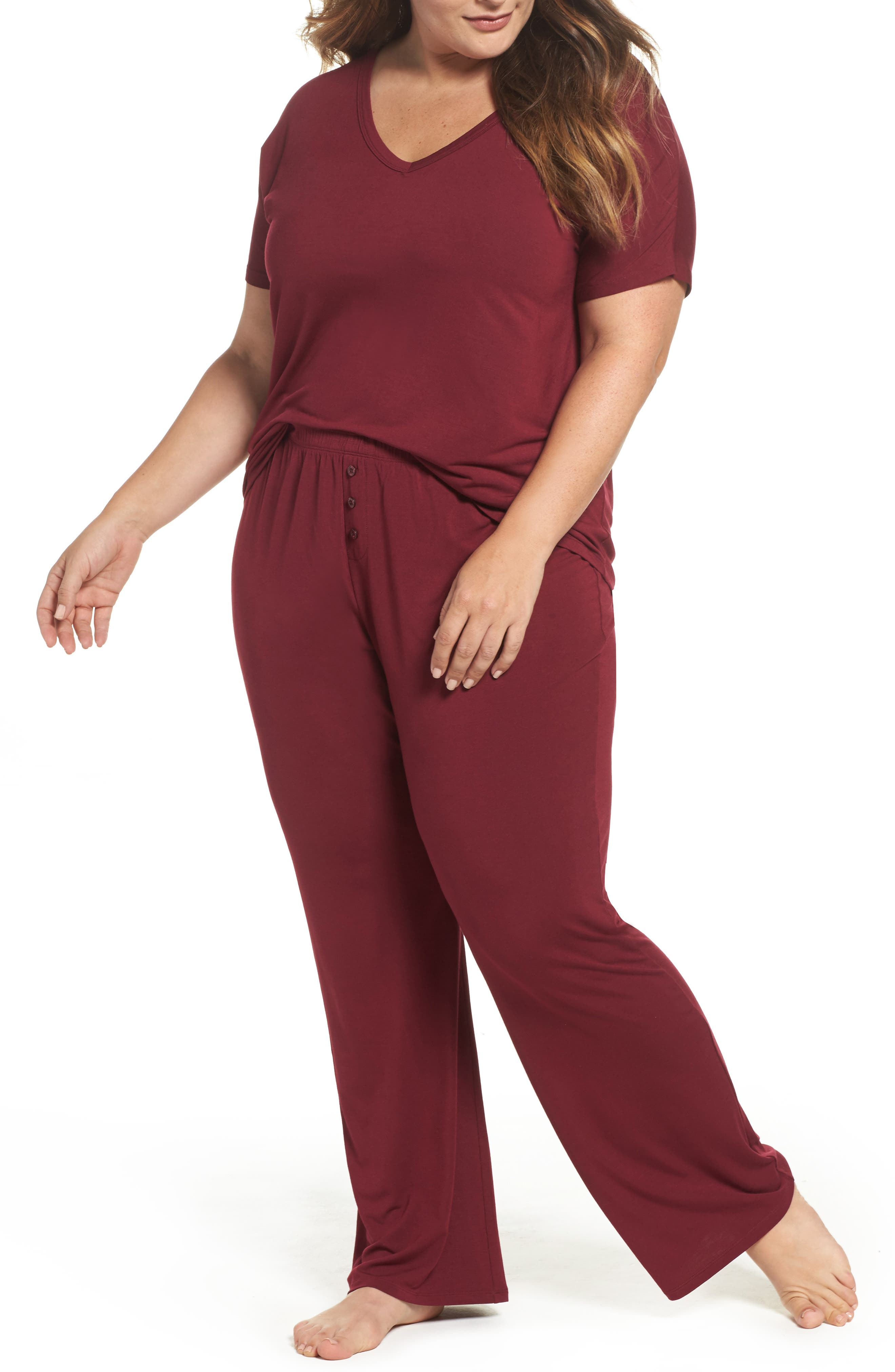 PJ Salvage Tee & Pants (Plus Size)