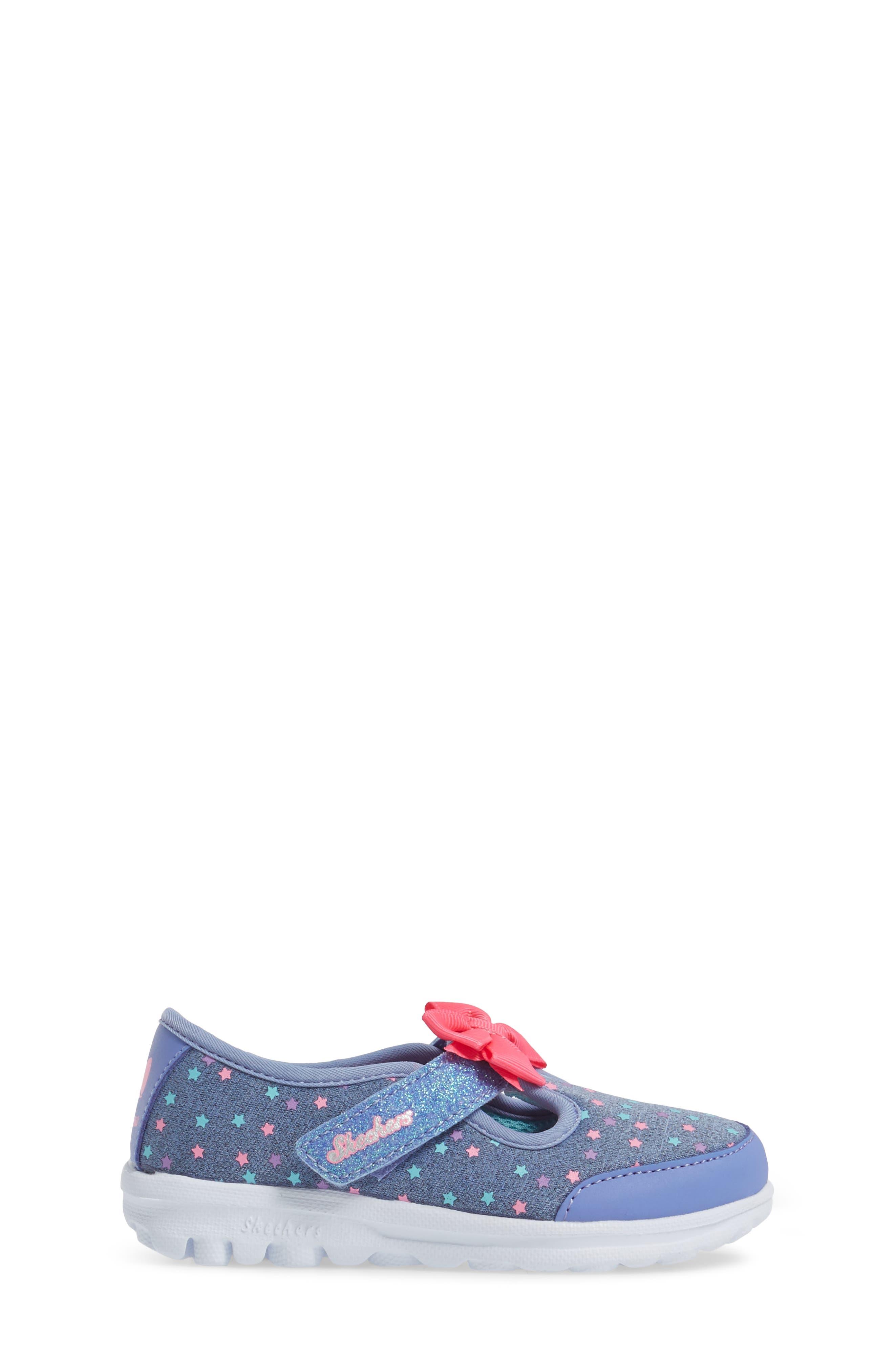 Alternate Image 3  - SKECHERS Go Walk Slip-On Sneaker (Baby, Walker, Toddler & Little Kid)