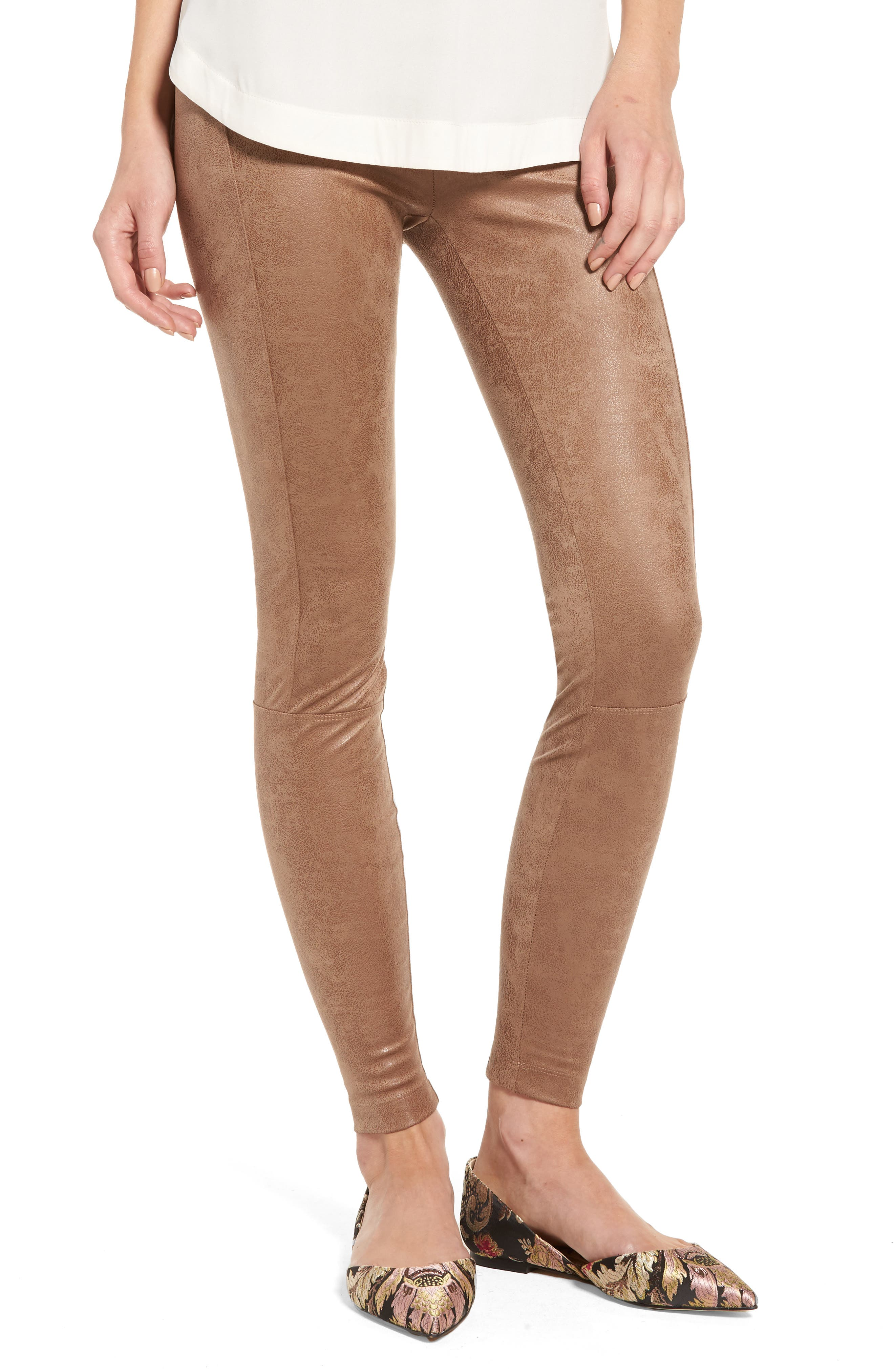 Lyssé Buffed Faux Suede Leggings