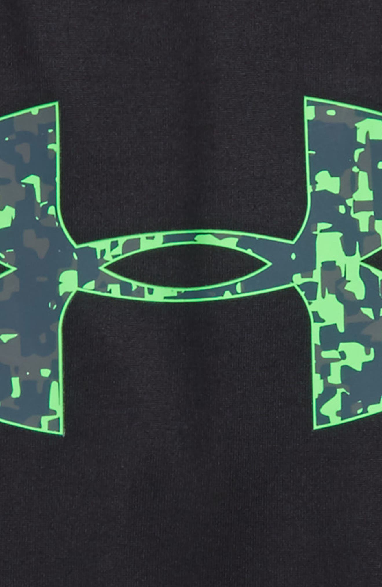 Alternate Image 2  - Under Armour Digital City Graphic HeatGear® T-Shirt (Toddler Boys & Little Boys)