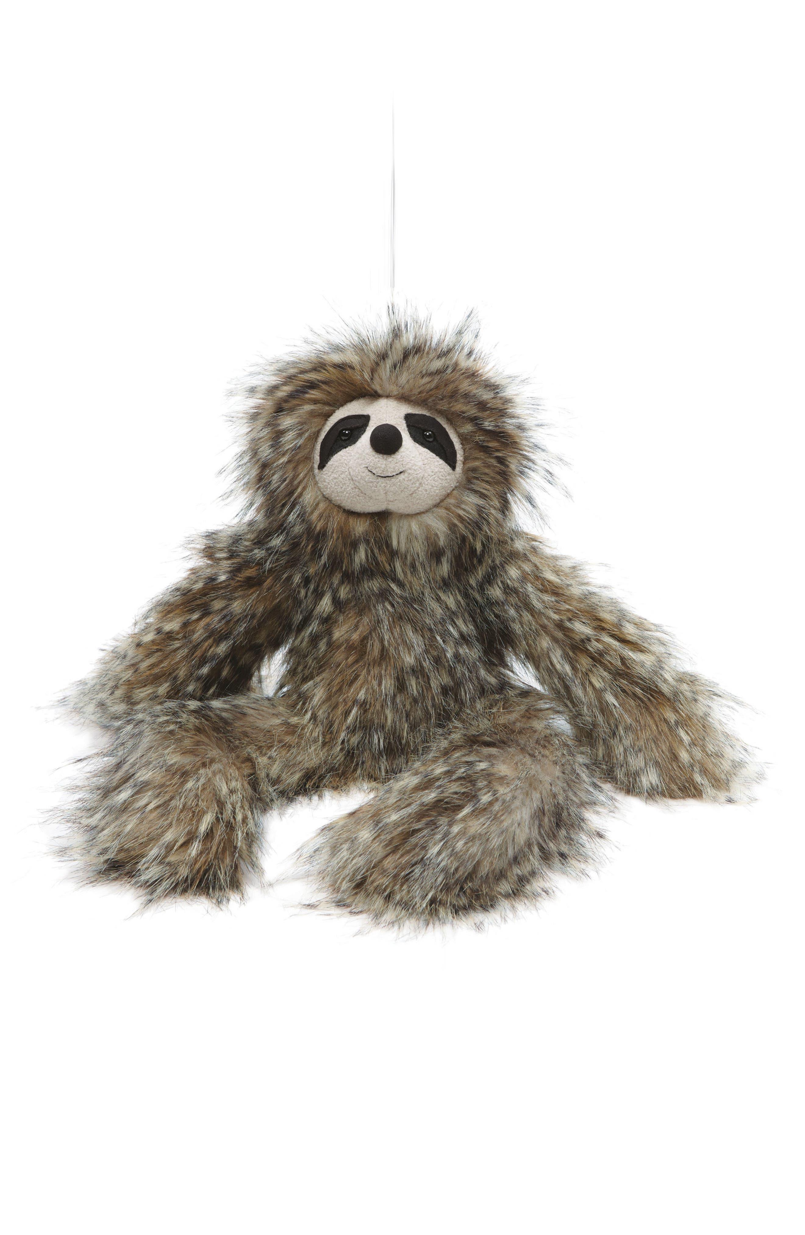 'Cyril Sloth' Stuffed Animal,                         Main,                         color, Grey