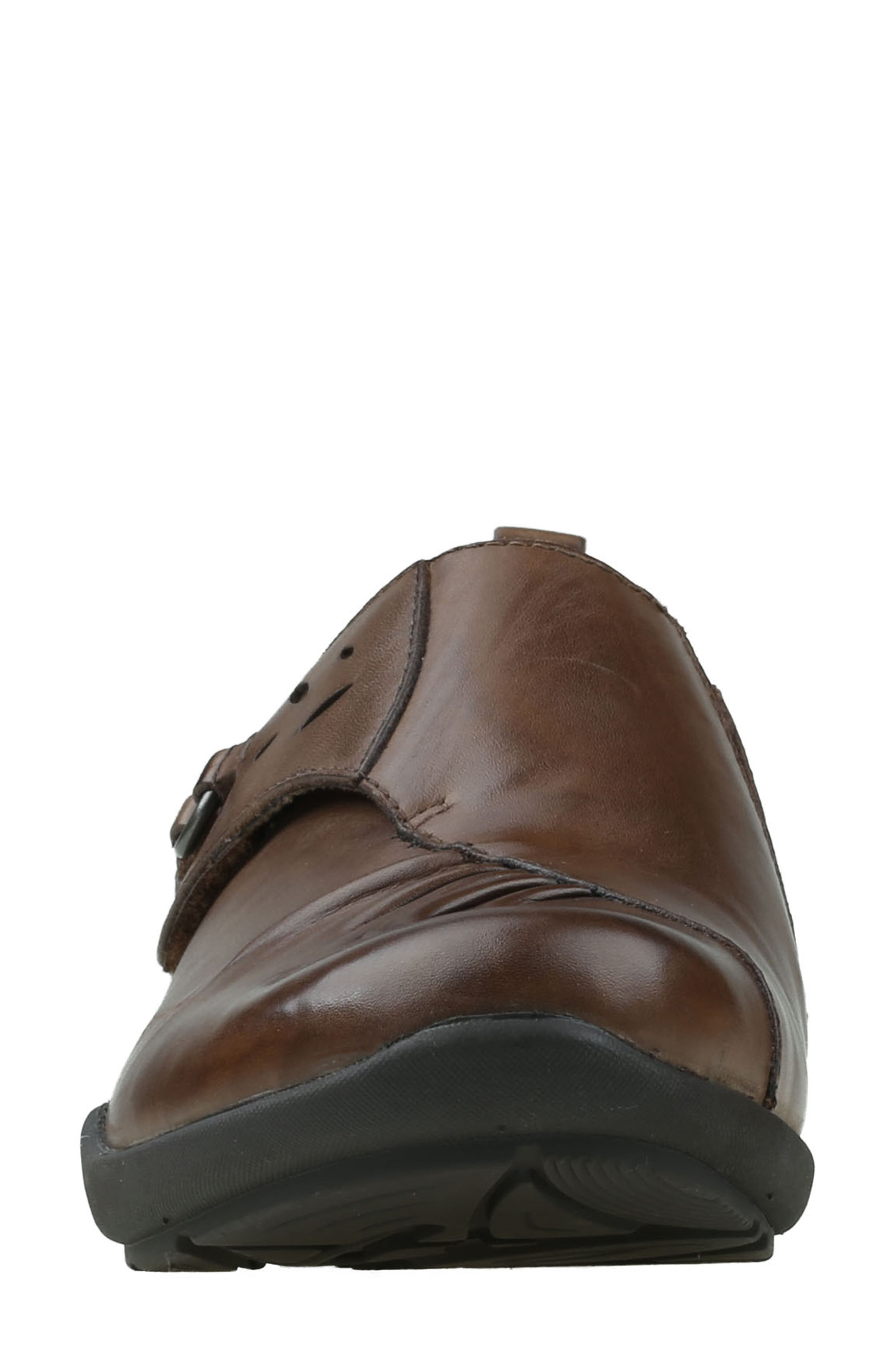 Amity Loafer,                             Alternate thumbnail 4, color,                             Almond Leather