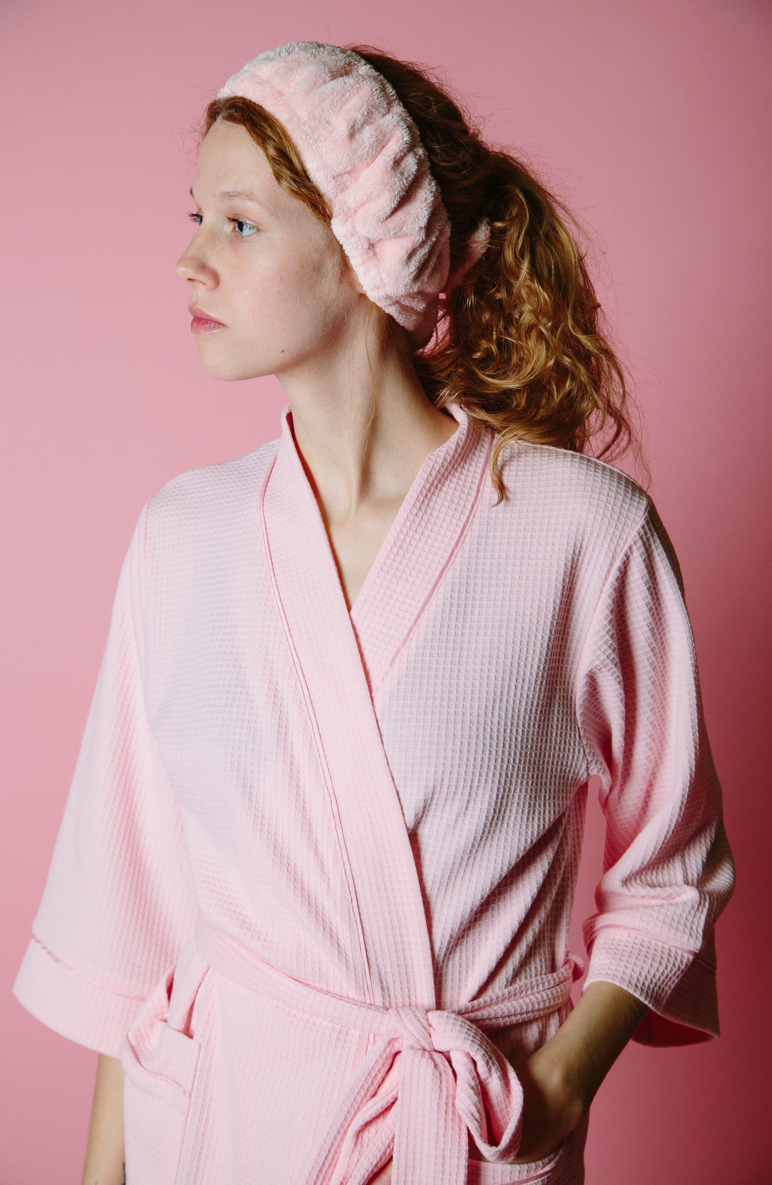 The Band Headband,                             Alternate thumbnail 3, color,                             Pink