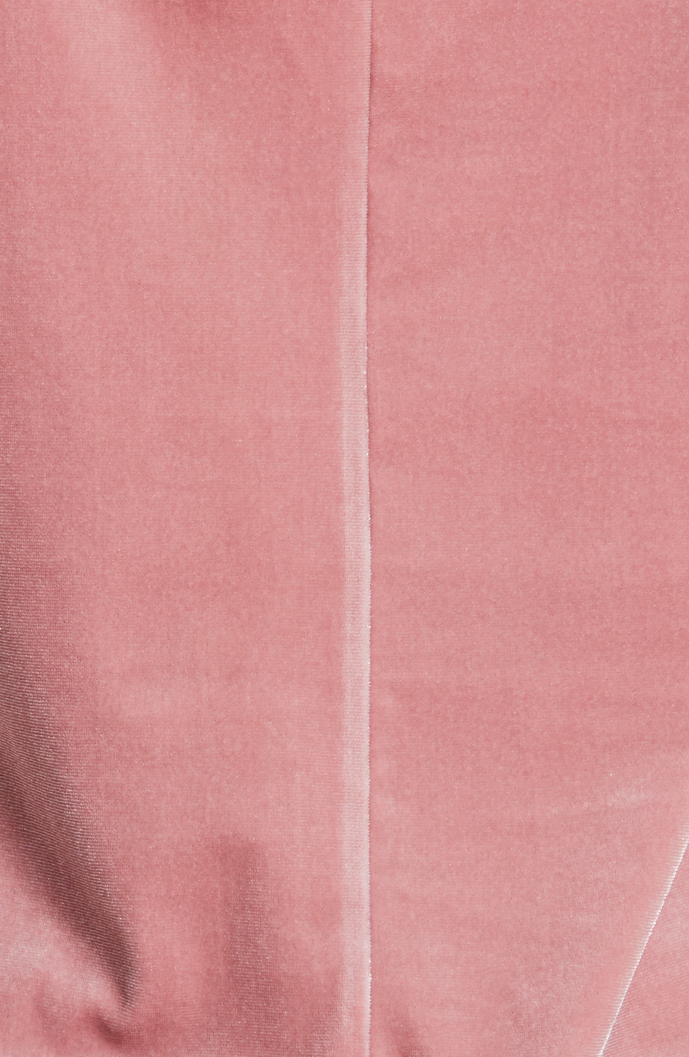 Amber Velvet Camisole,                             Alternate thumbnail 5, color,                             Deep Pink