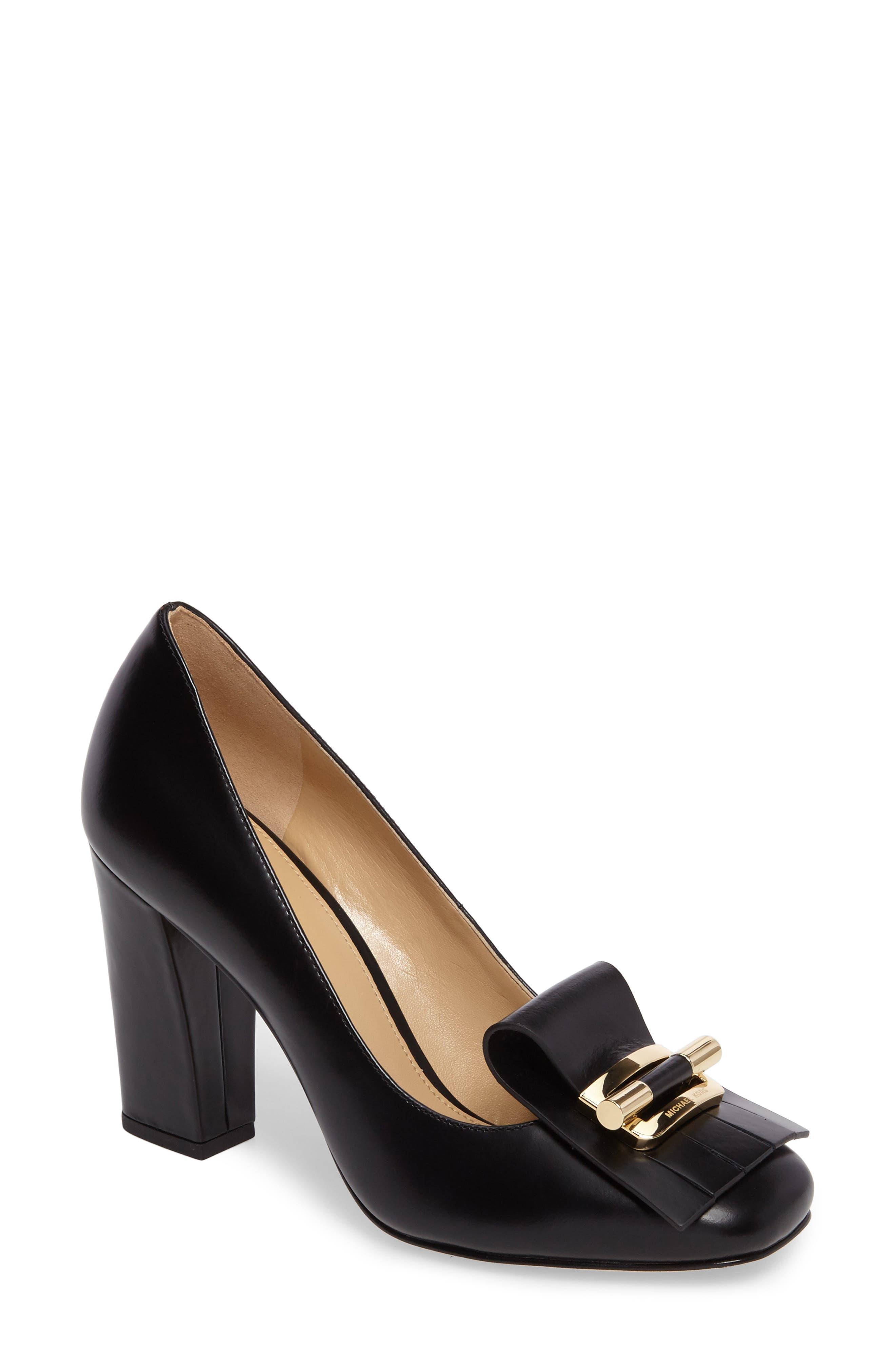 Gloria Kiltie Pump,                         Main,                         color, Black