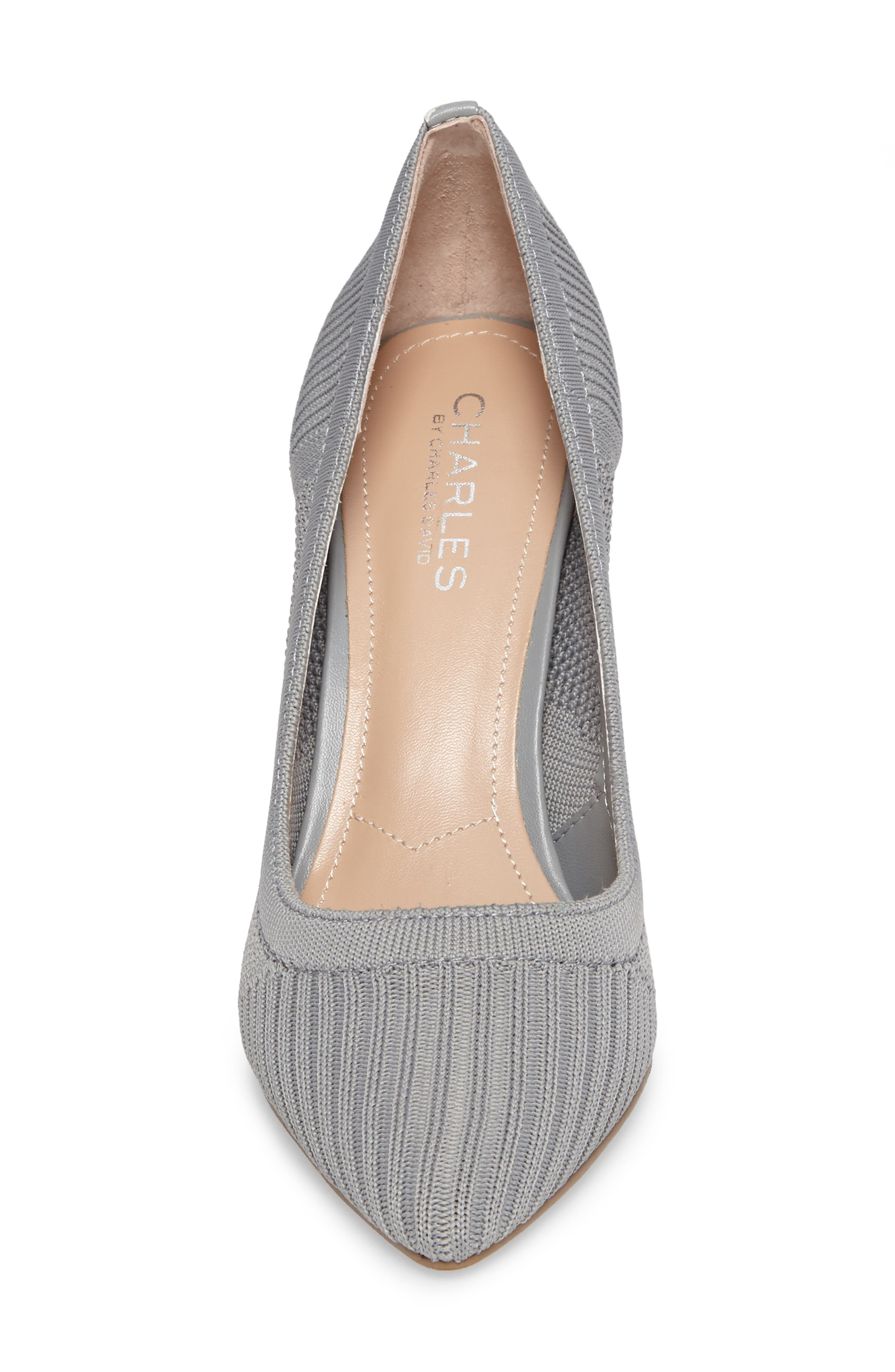 Alternate Image 4  - Charles by Charles David Pacey Knit Pump (Women)