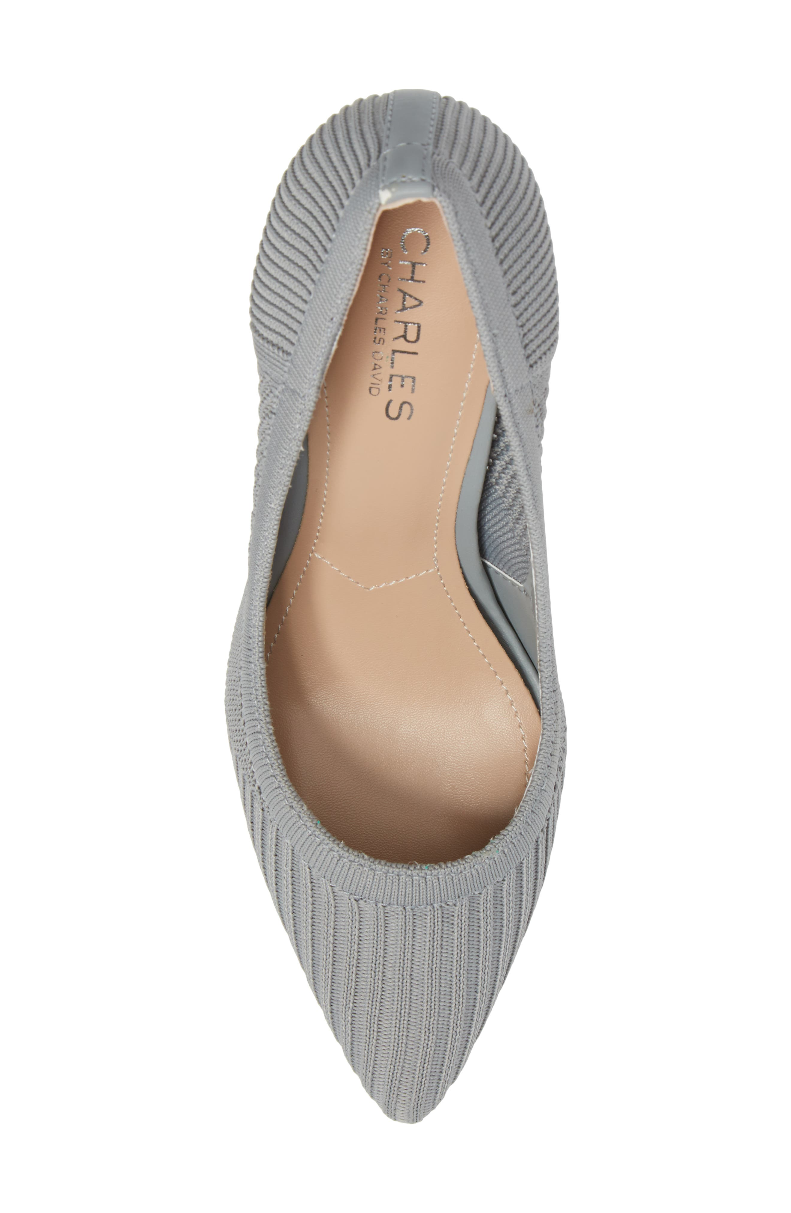 Alternate Image 5  - Charles by Charles David Pacey Knit Pump (Women)