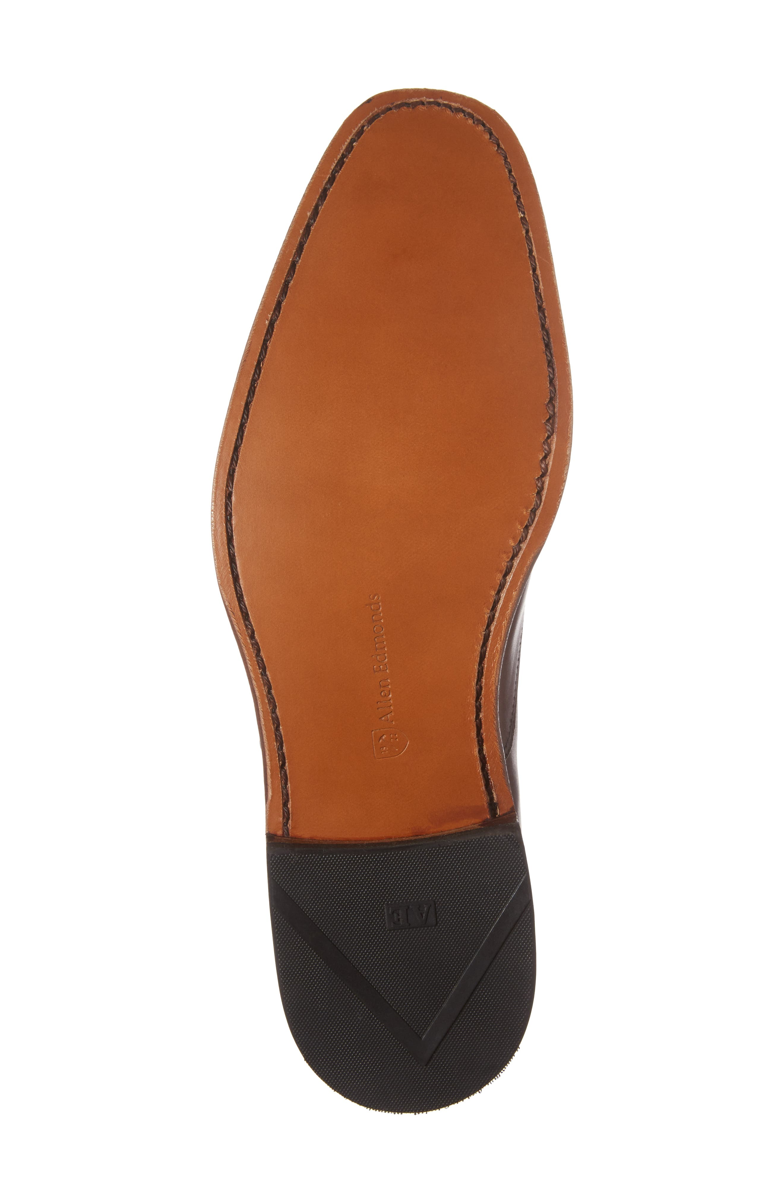 'Exchange Place' Cap Toe Oxford,                             Alternate thumbnail 6, color,                             Dark Chili Leather