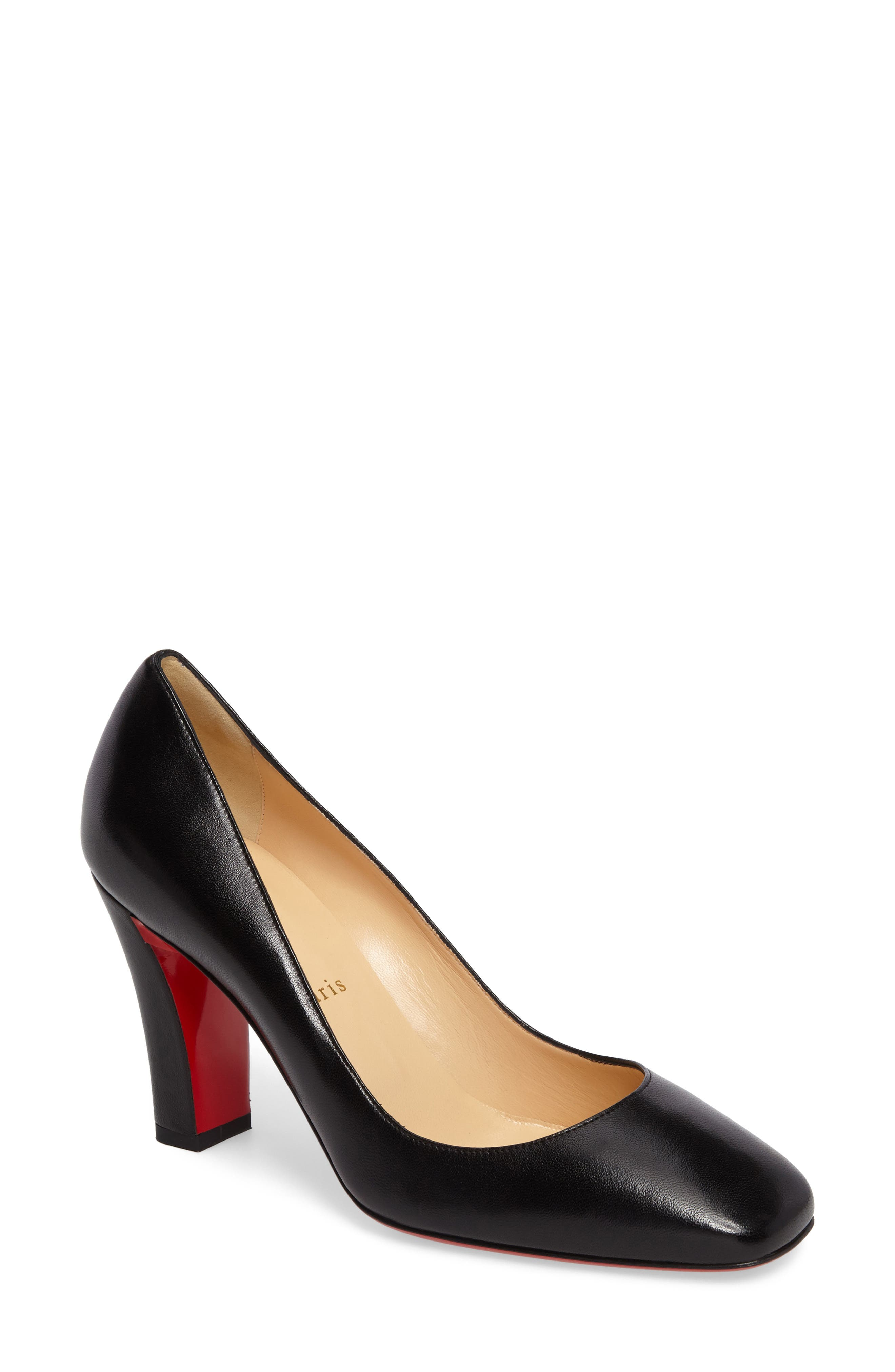christian louboutin kitten heel shoes