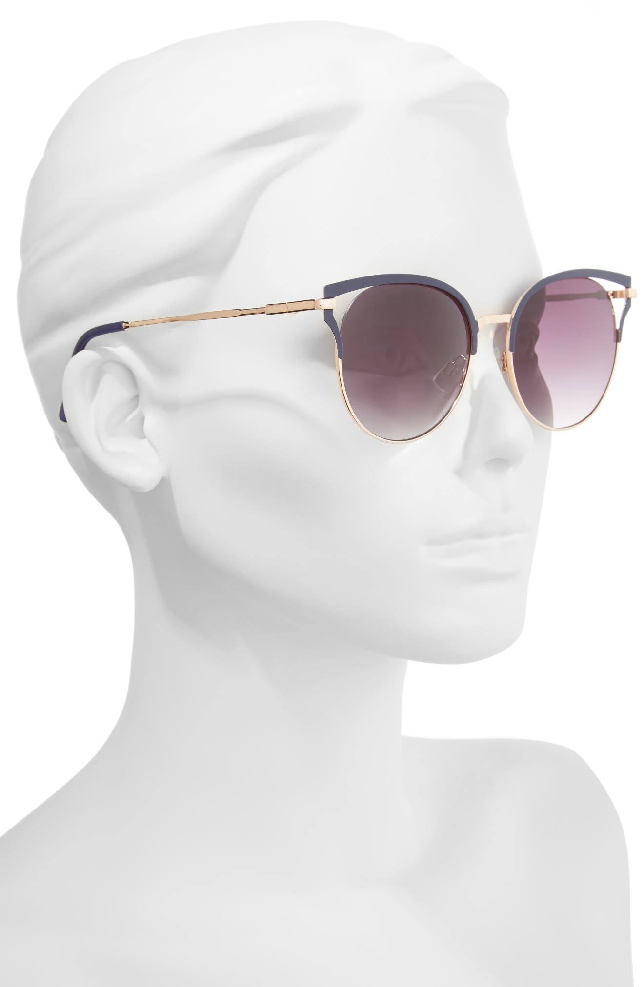 Alternate Image 2  - BP. 55mm Colored Round Sunglasses