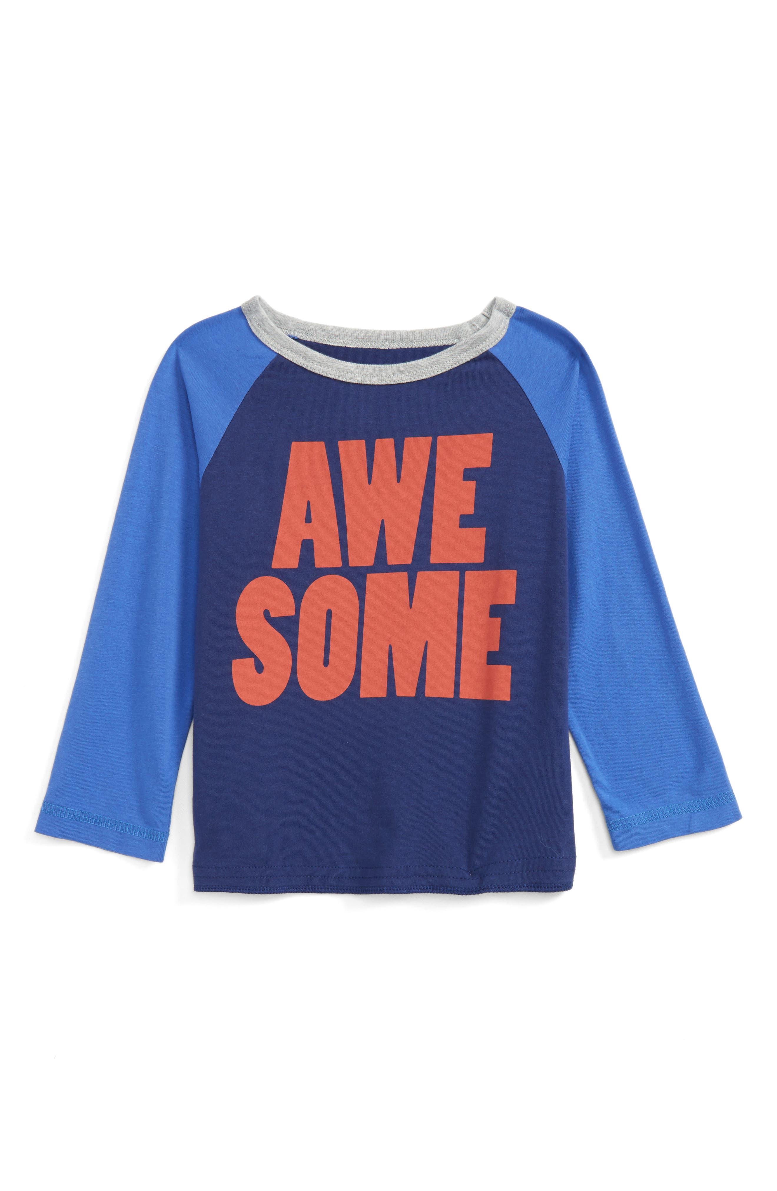 Peek Awesome Raglan T-Shirt (Baby Boys)