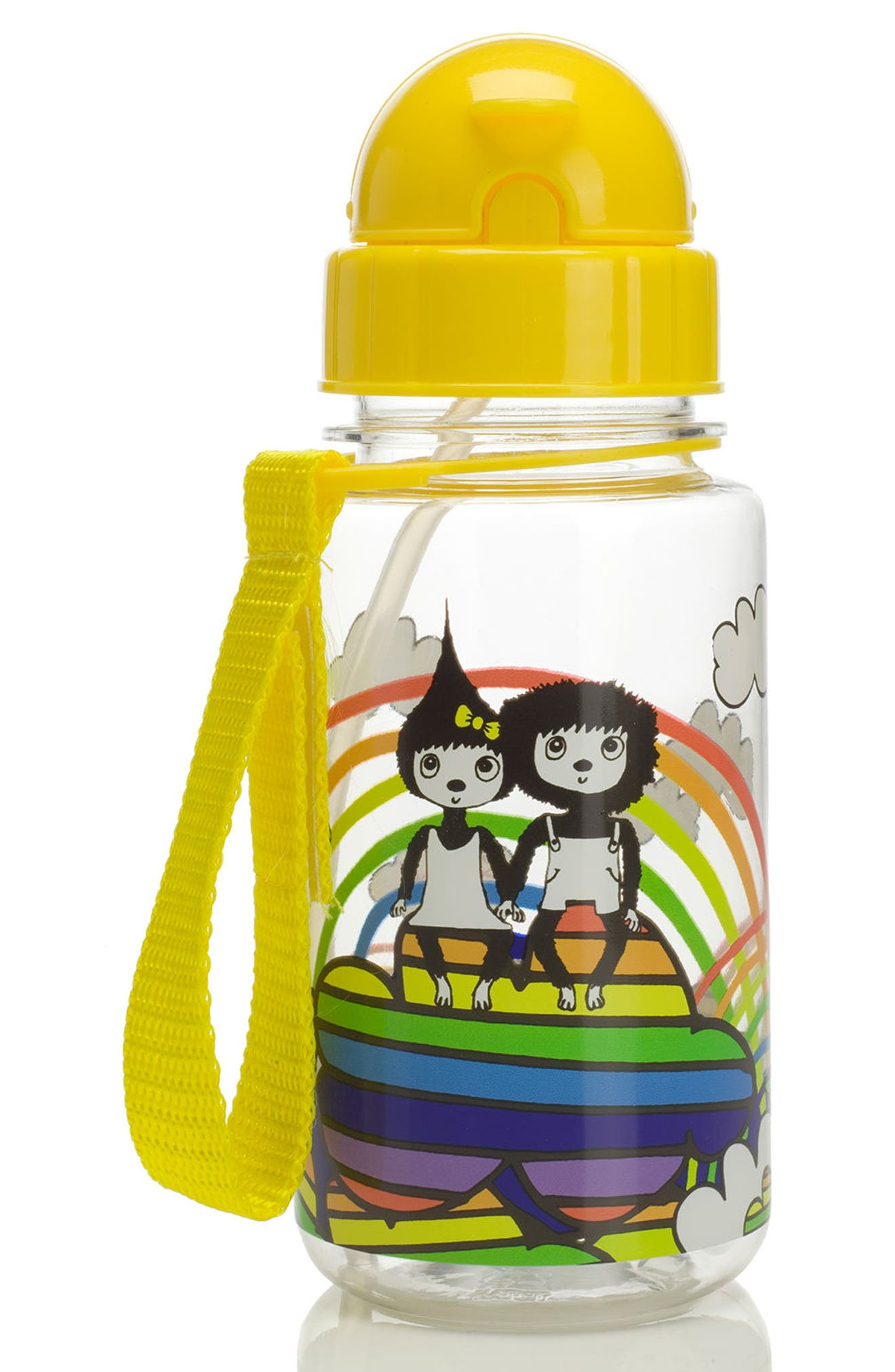 Zip & Zoe Junior Backpack Set,                             Alternate thumbnail 3, color,                             Navy/ Rainbow