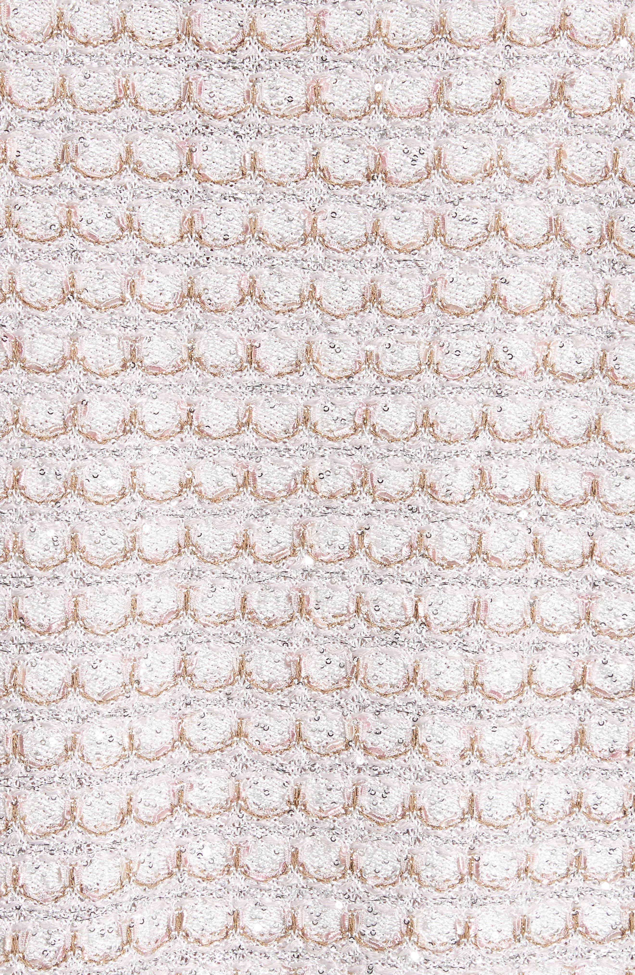 Alternate Image 5  - St. John Collection Sequin Scallop Knit Bolero