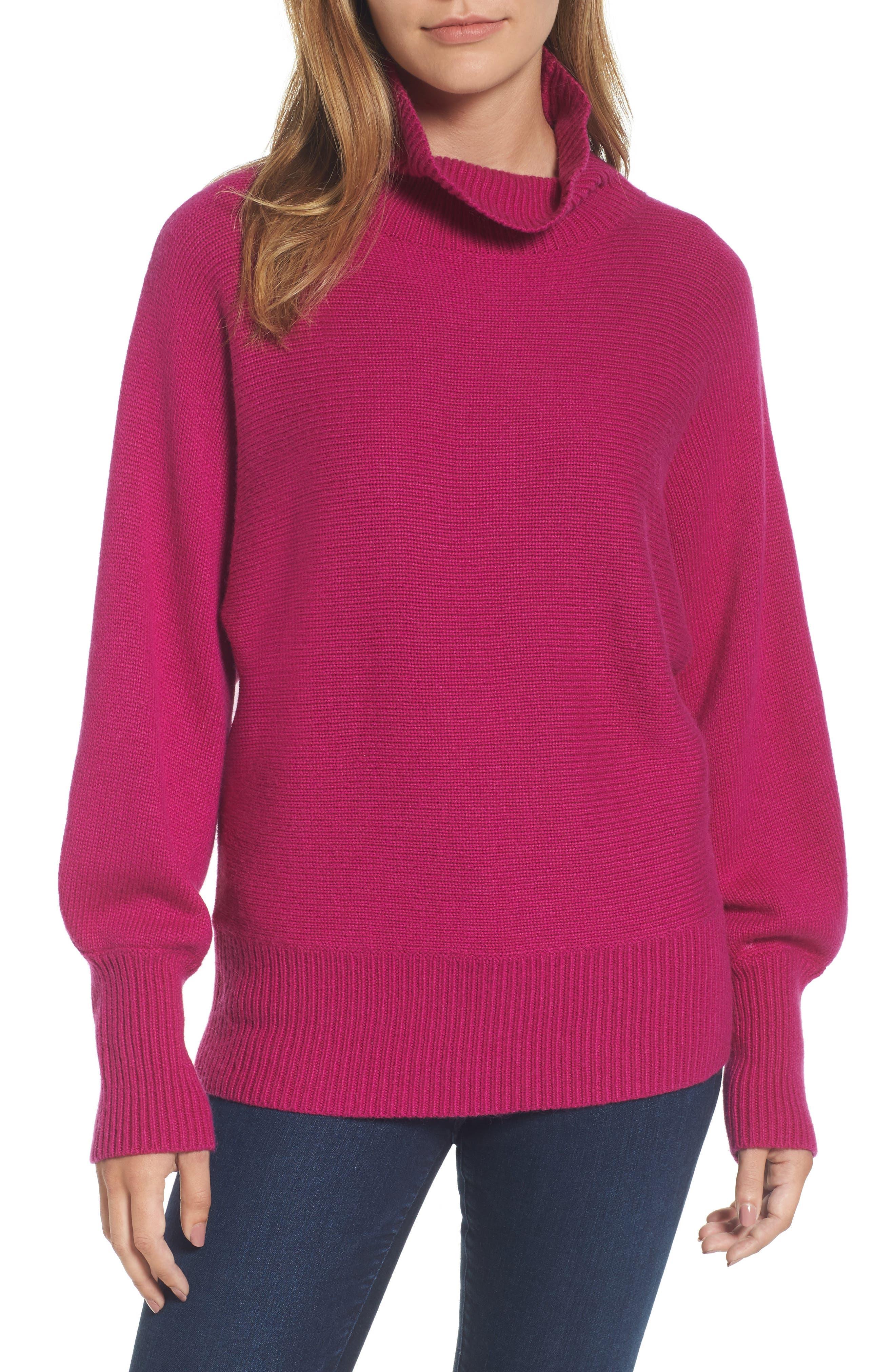 Halogen® Blouson Sleeve Sweater (Regular & Petite)
