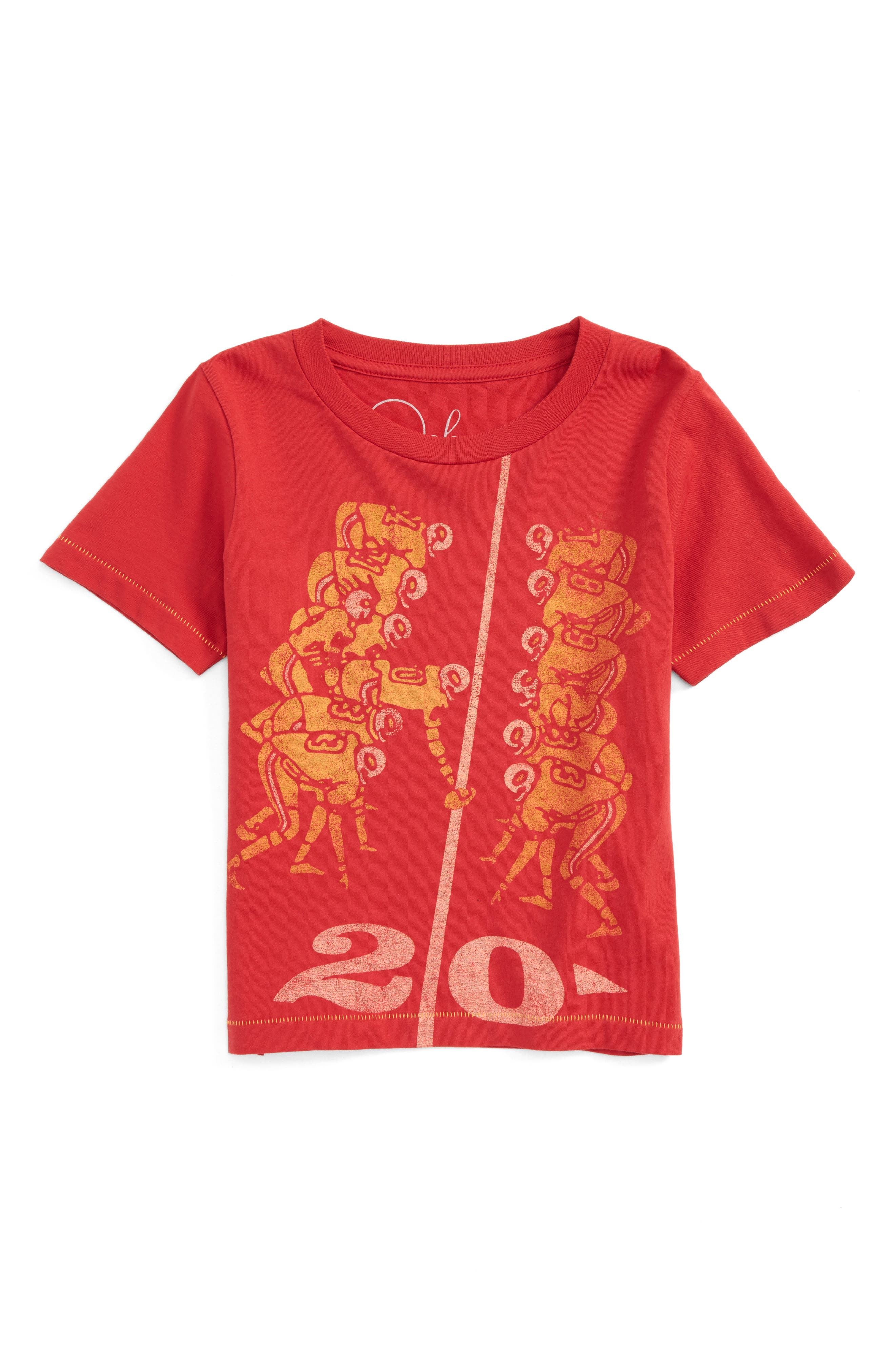 Peek 20 Yard Line T-Shirt (Toddler Boys, Little Boys & Big Boys)