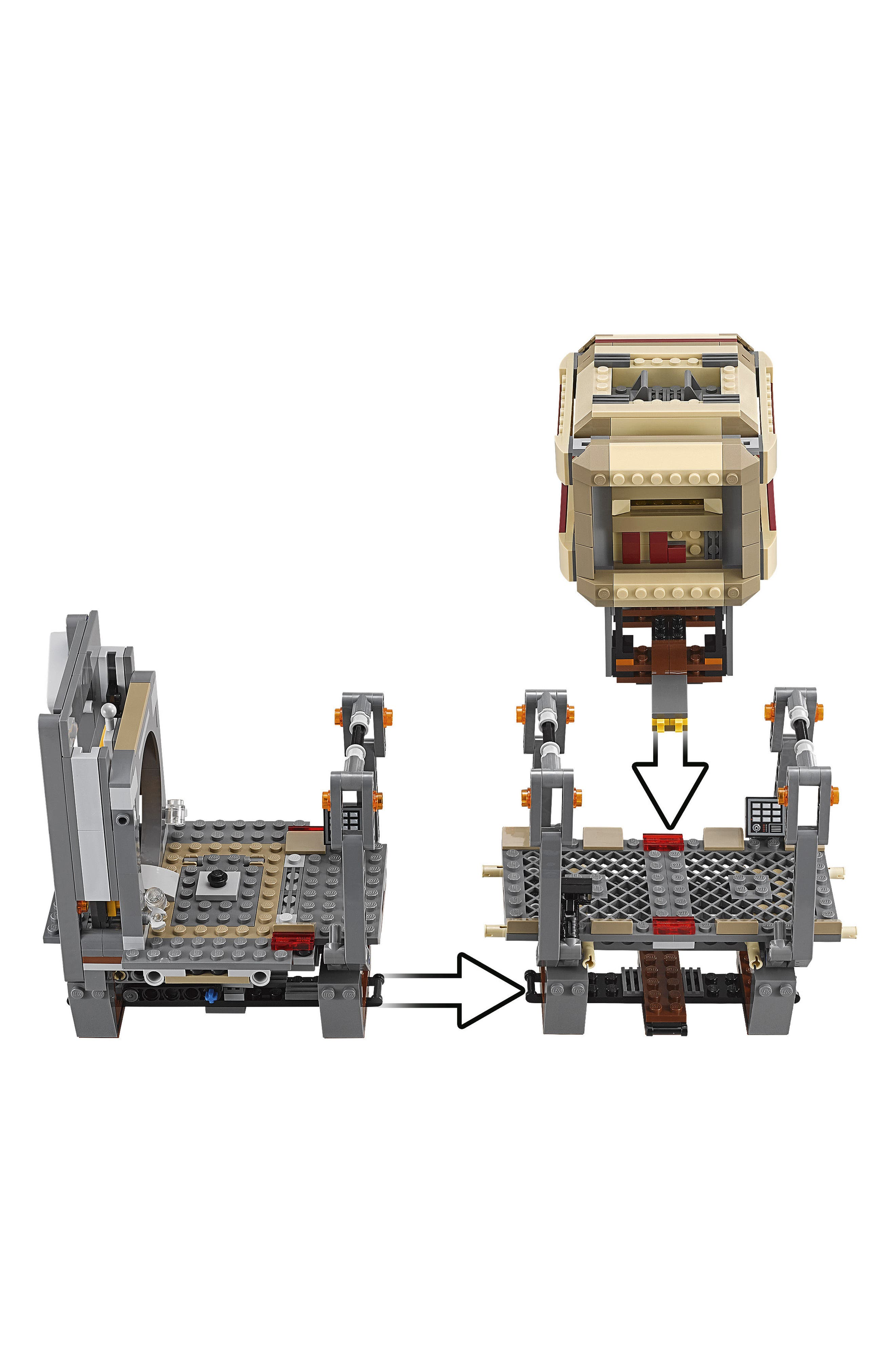 Star Wars<sup>™</sup>: The Force Awakens Rathtar<sup>™</sup> Escape Play Set - 75180,                             Alternate thumbnail 4, color,                             Multi