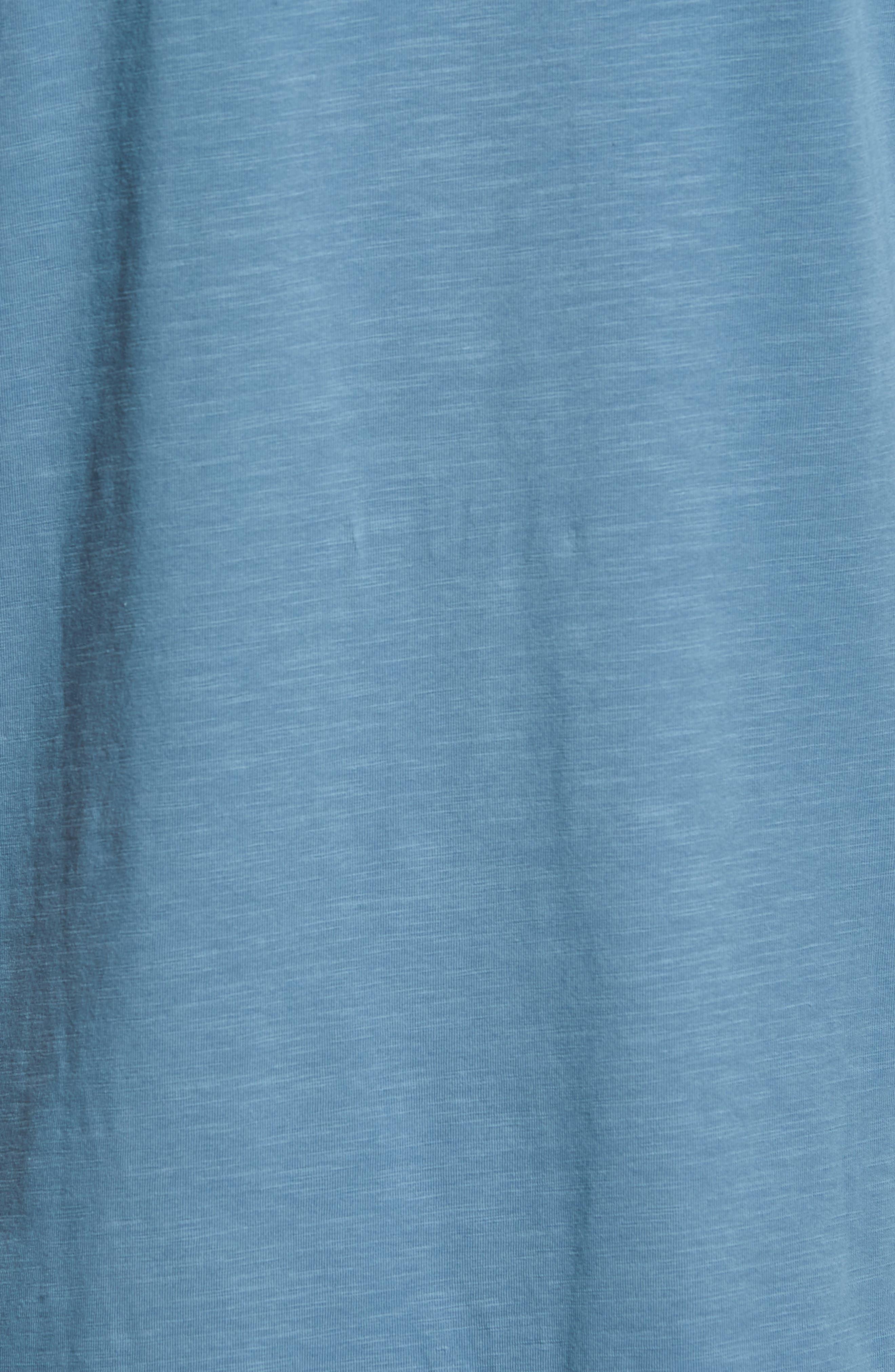 Alternate Image 5  - Tailor Vintage Stretch Slub Jersey Polo