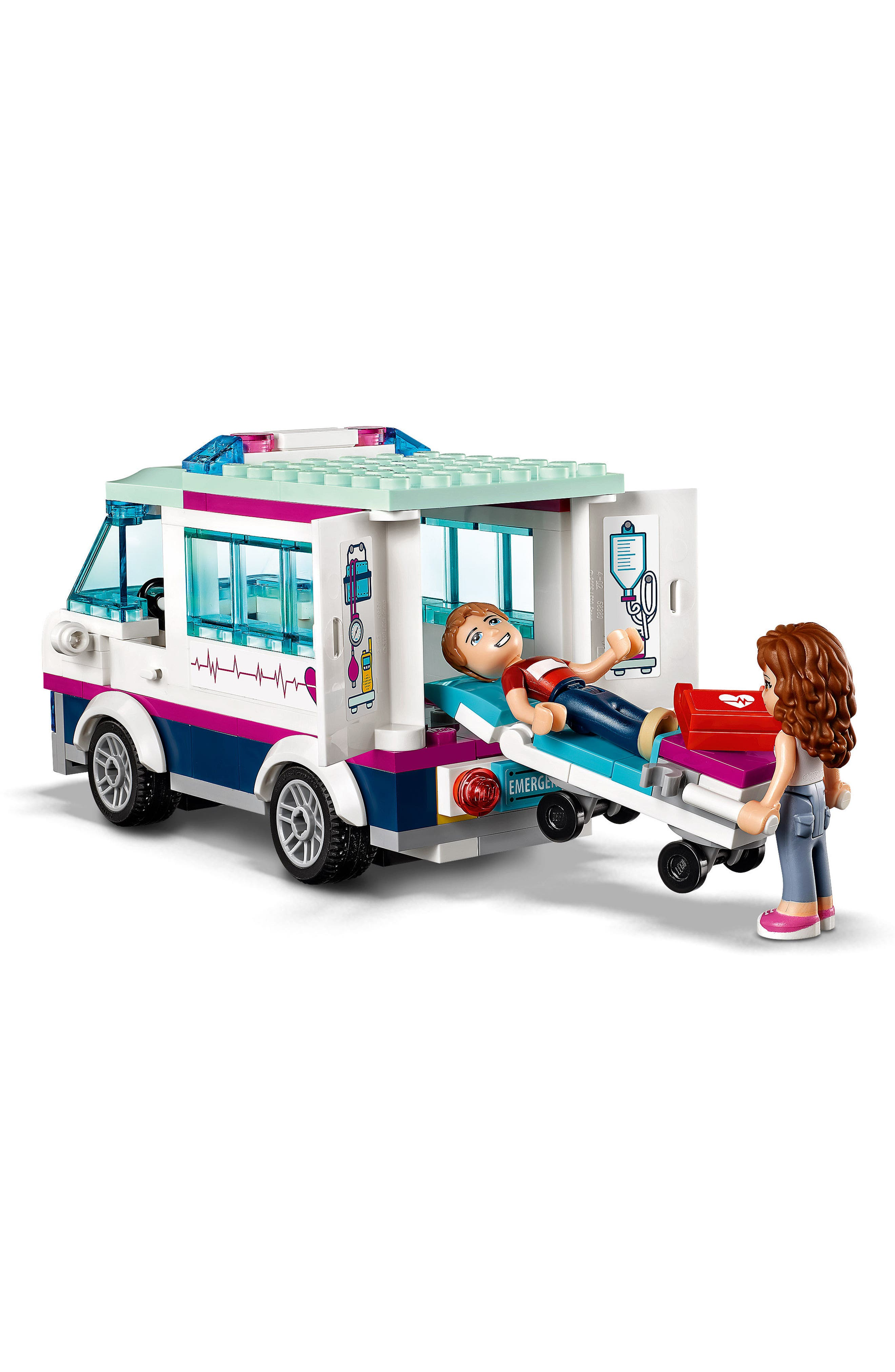 Friends Heartlake Hospital Play Set - 41318,                             Alternate thumbnail 6, color,                             Multi