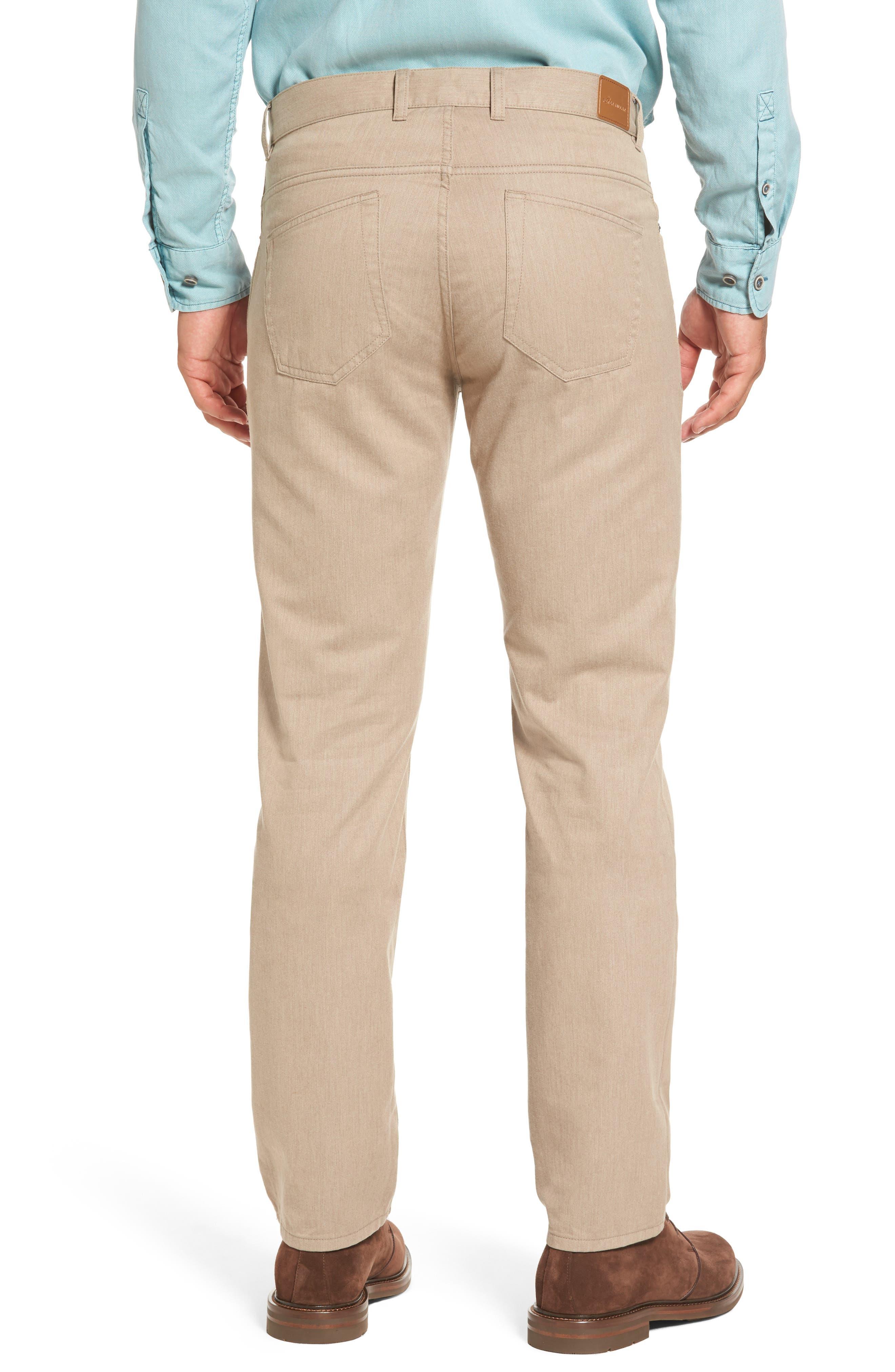 Alternate Image 2  - Peter Millar Mélange Five-Pocket Pants