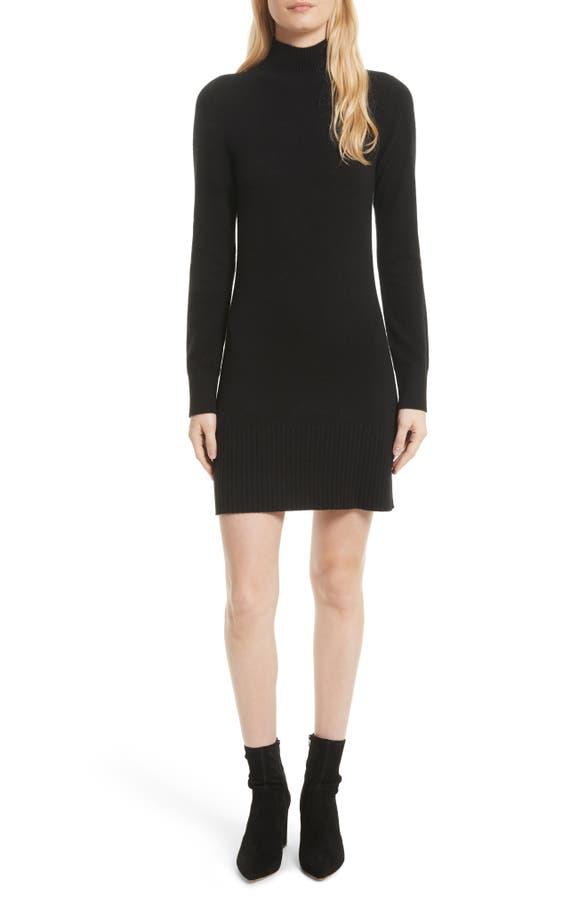 main image frame turtleneck cashmere sweater dress - Dress Frame