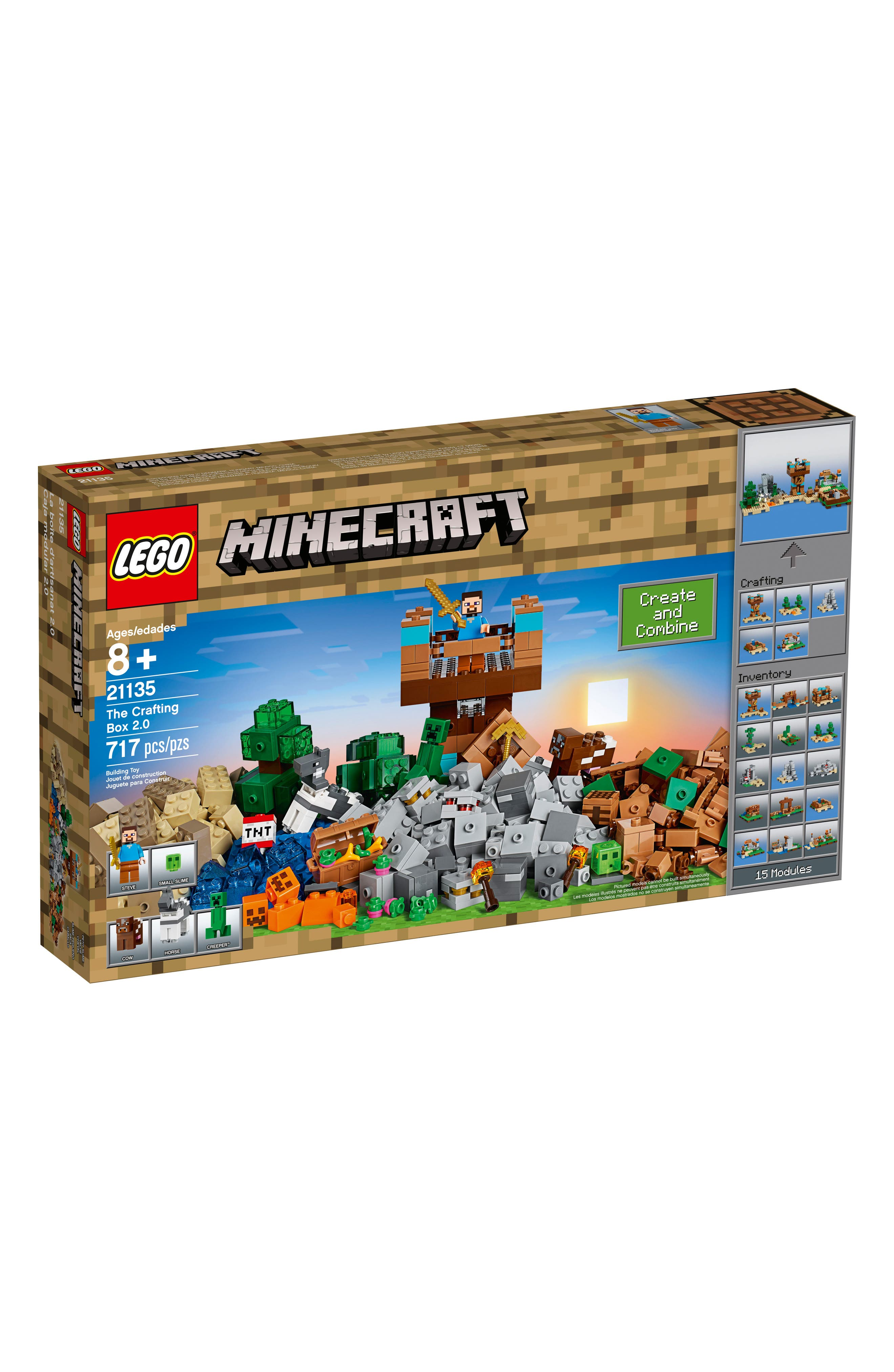 Minecraft<sup>™</sup> The Crafting Box 2.0 Play Set - 21135,                             Main thumbnail 1, color,                             Multi