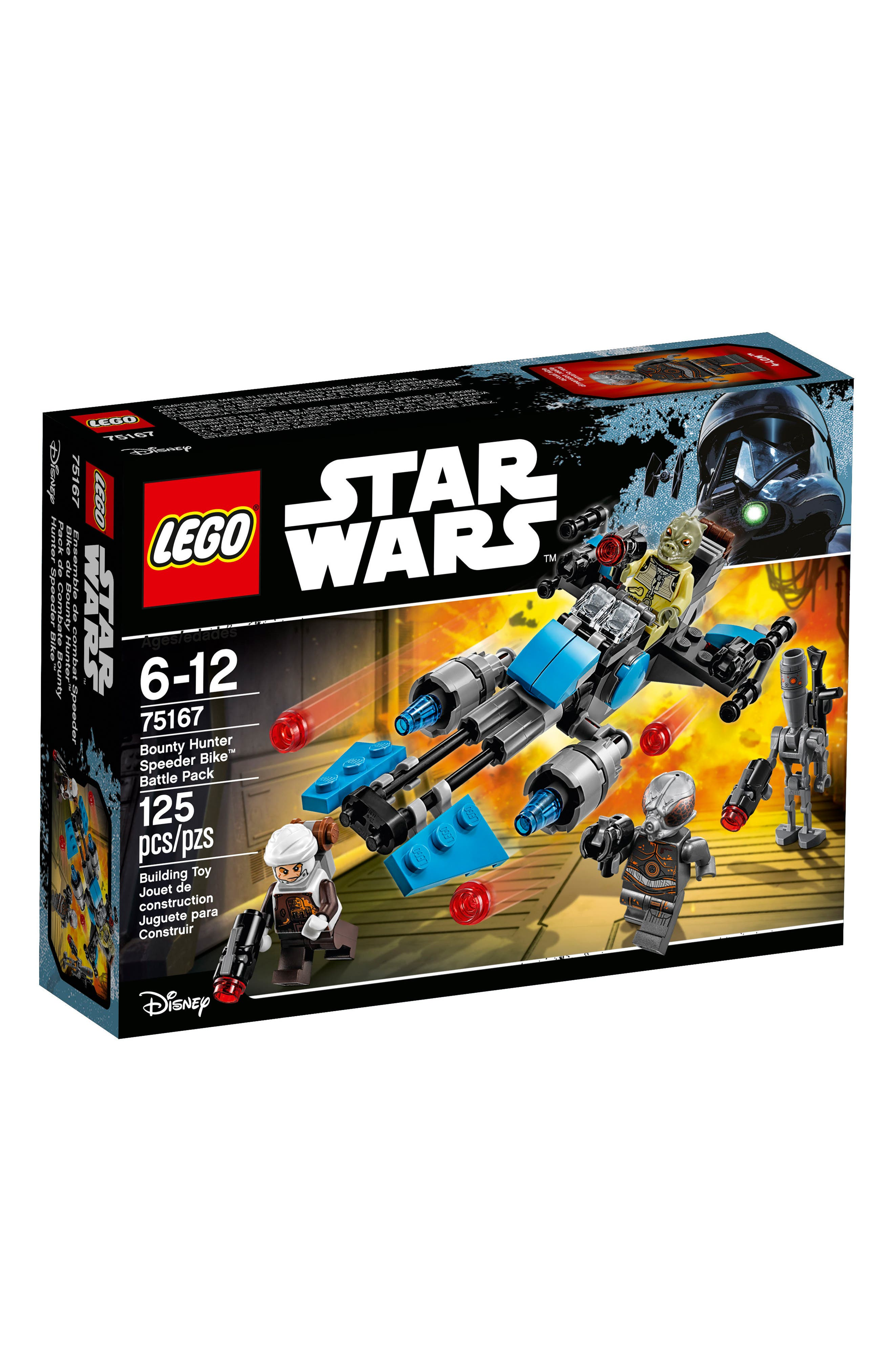 LEGO® Star Wars™ Bounty Hunter Speeder Bike™ Battle Pack - 75167