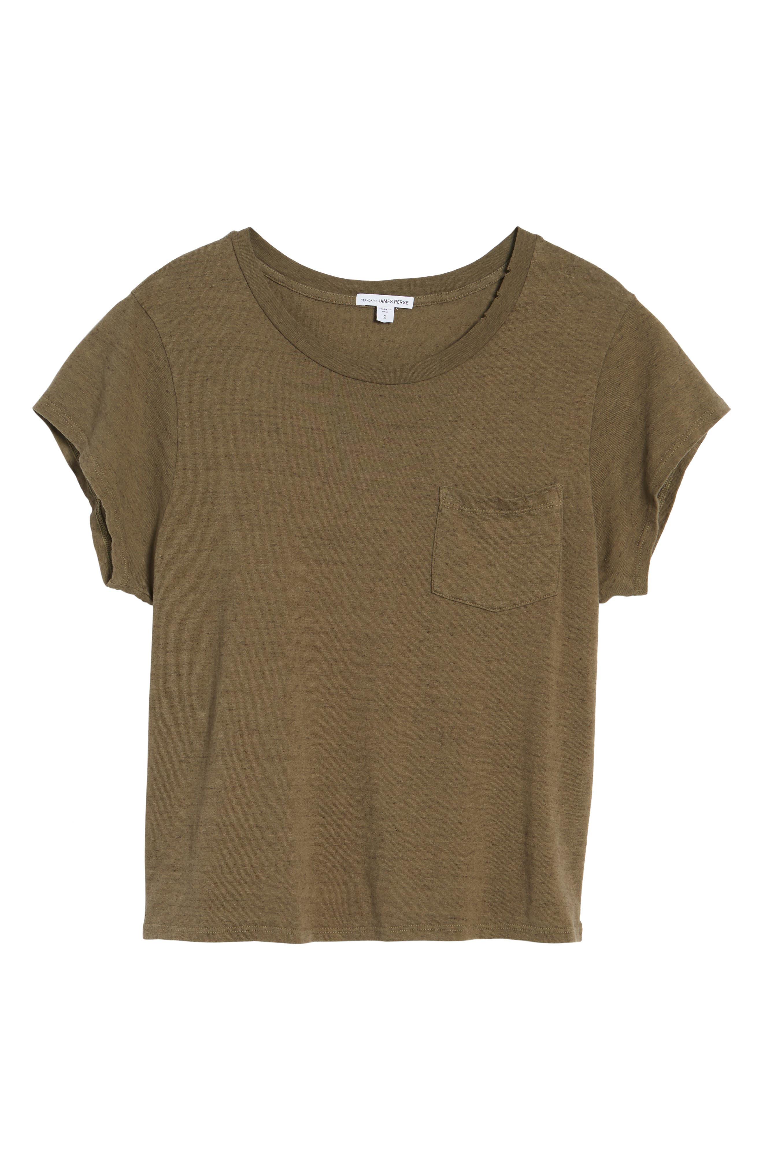 Alternate Image 6  - James Perse Vintage Sweatshirt Tee