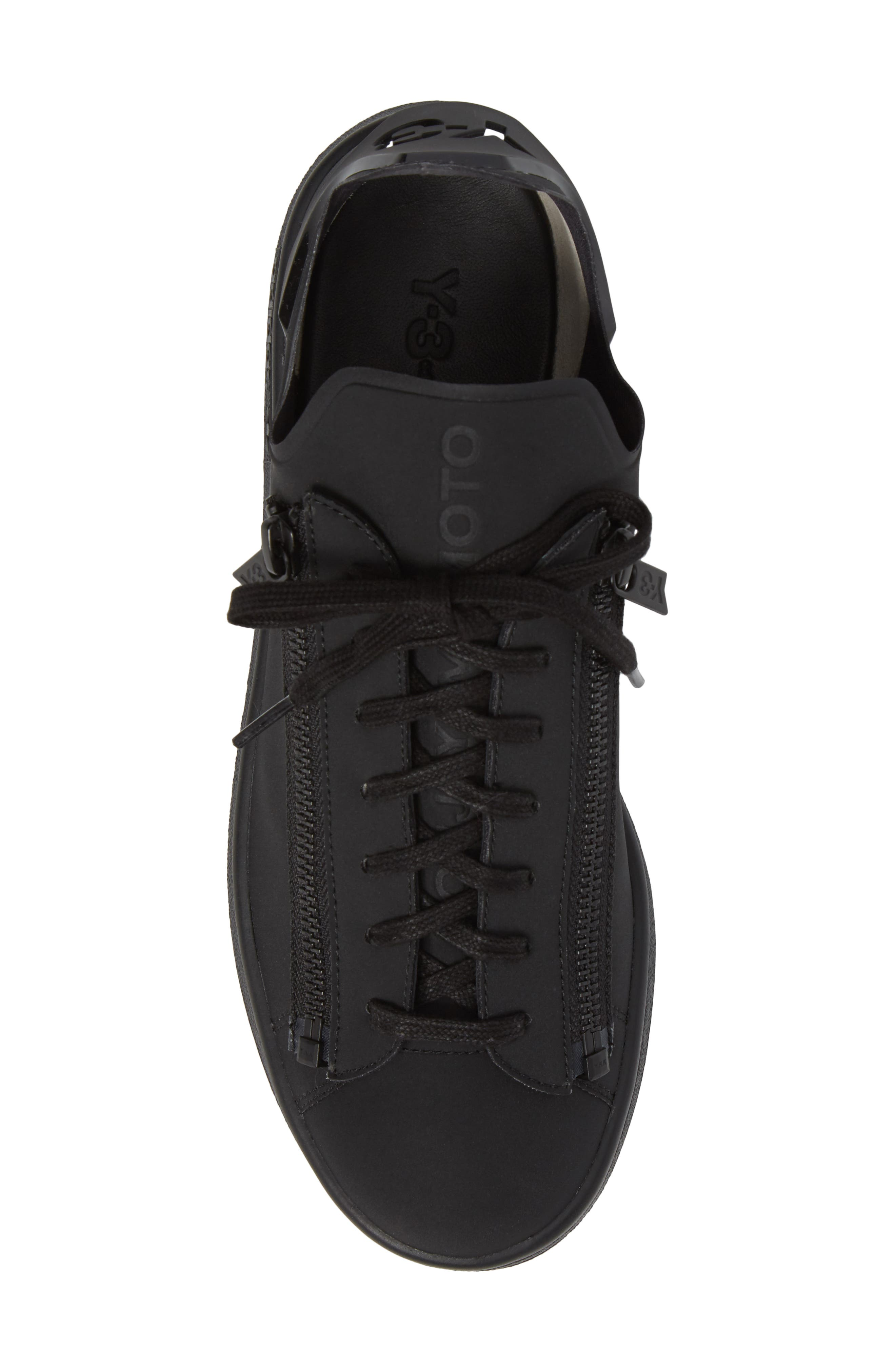 Stan Low Top Sneaker,                             Alternate thumbnail 5, color,                             Core Black
