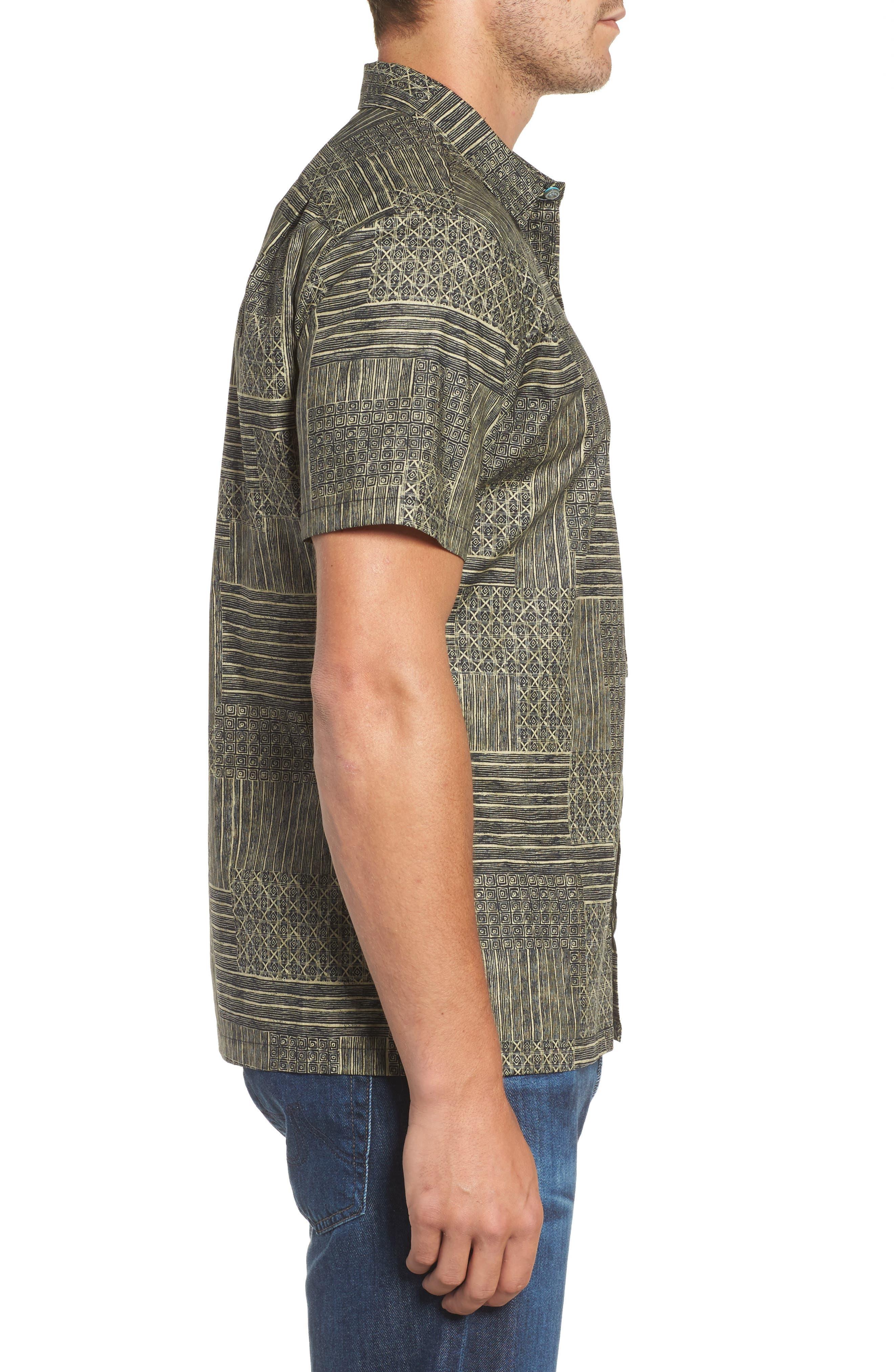 Alternate Image 3  - Tori Richard Spring Field Trim Fit Print Sport Shirt