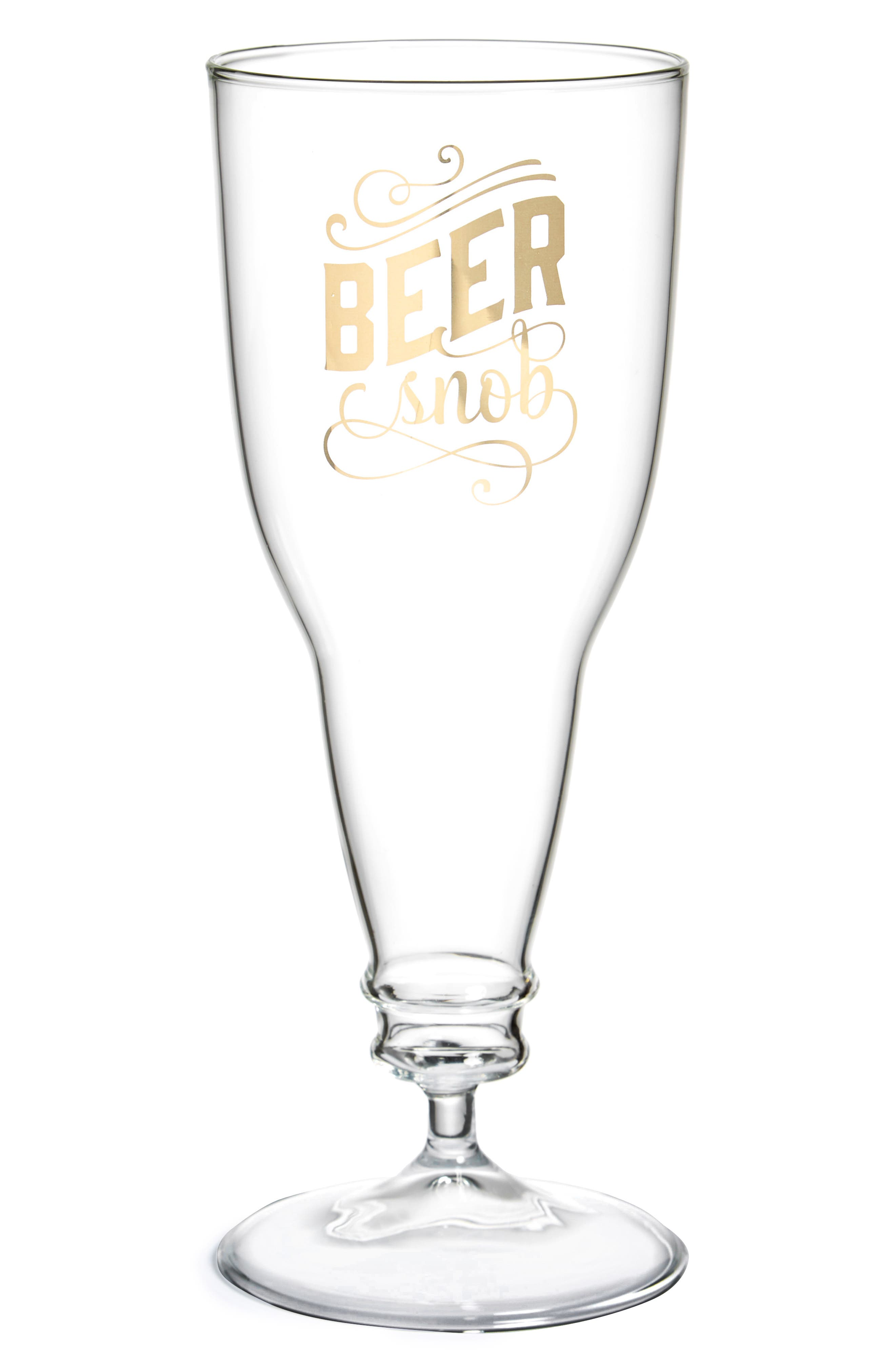 Fred & Friends Beer Snob Glass