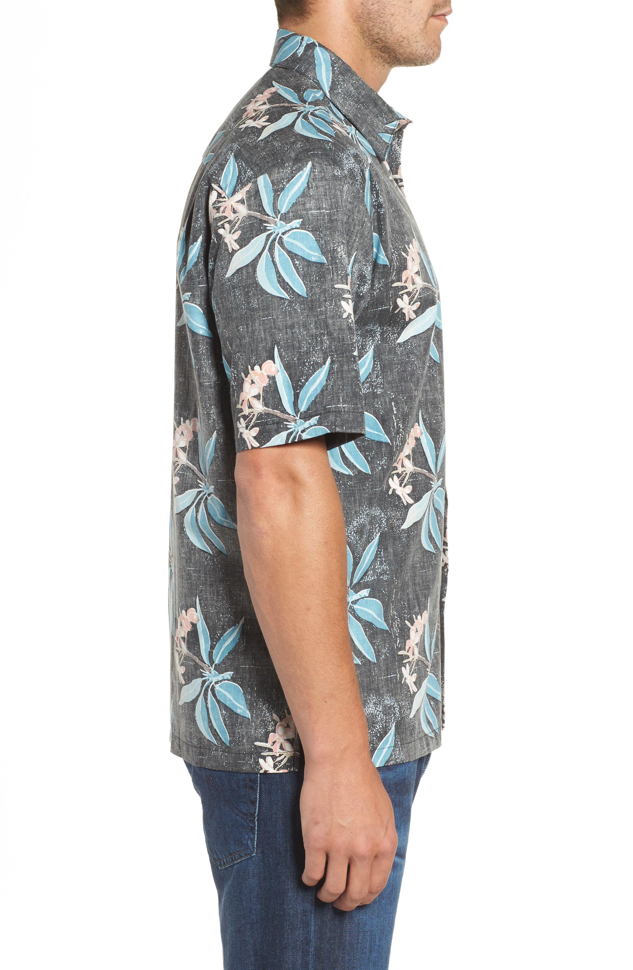 Alternate Image 3  - Kahala Pua Classic Fit Print Sport Shirt