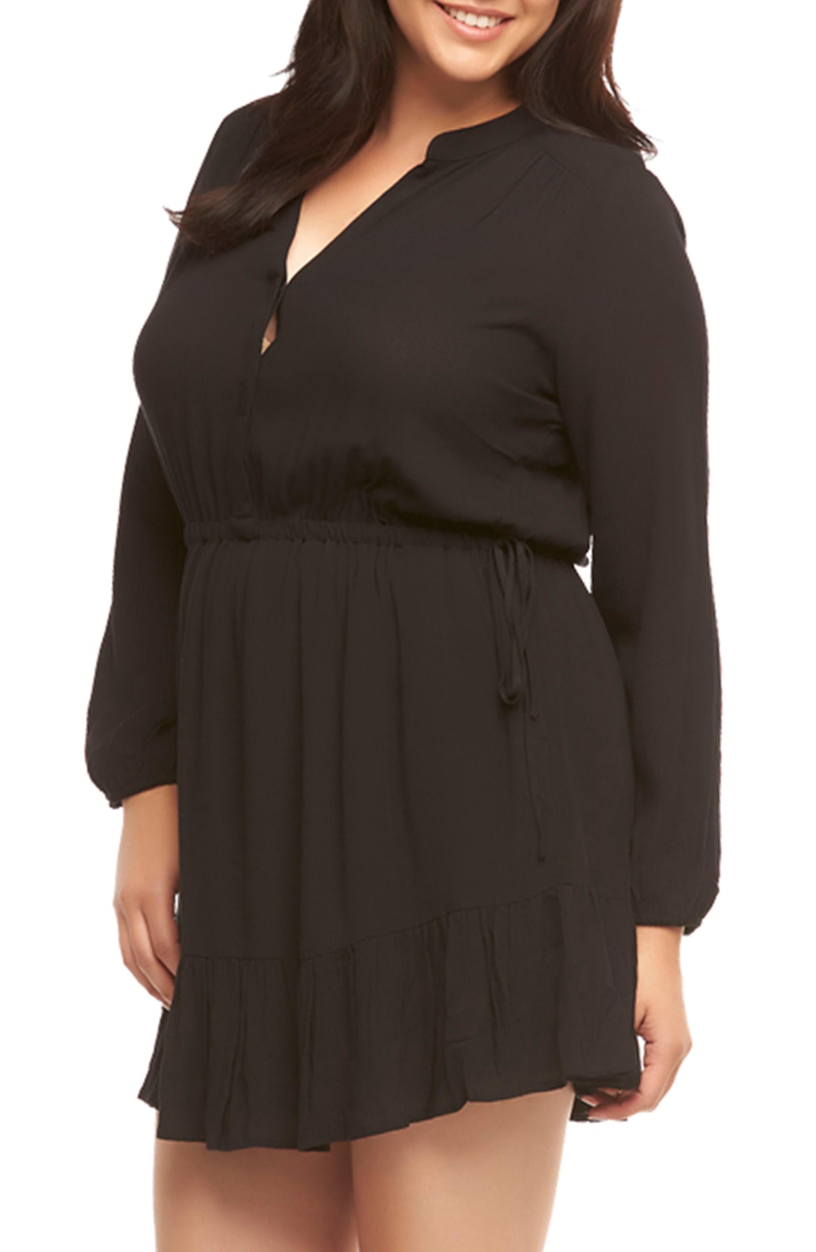Alternate Image 3  - Tart Sian Shirtdress (Plus Size)