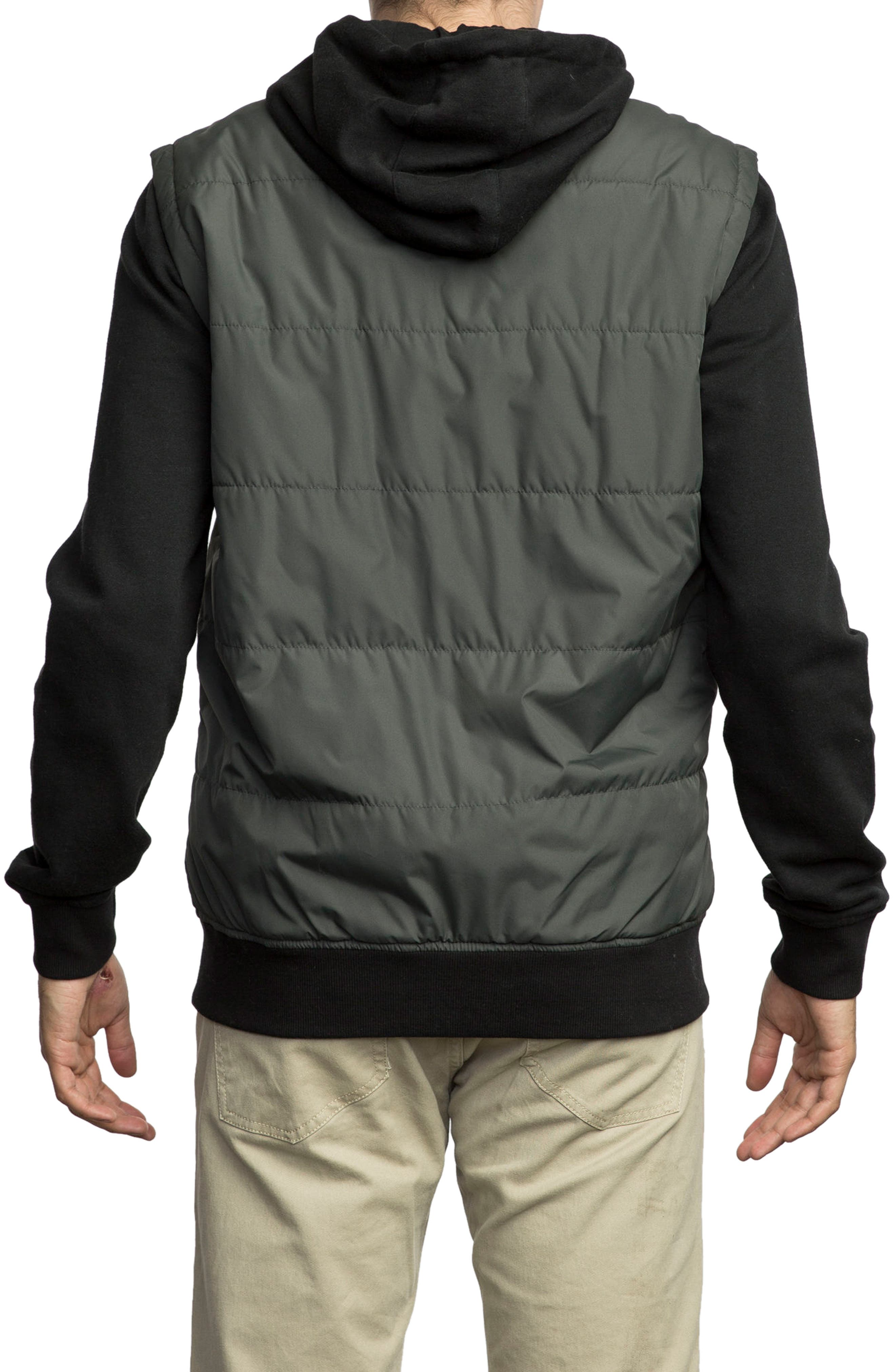 Alternate Image 2  - RVCA Puffer Zips Hybrid Jacket