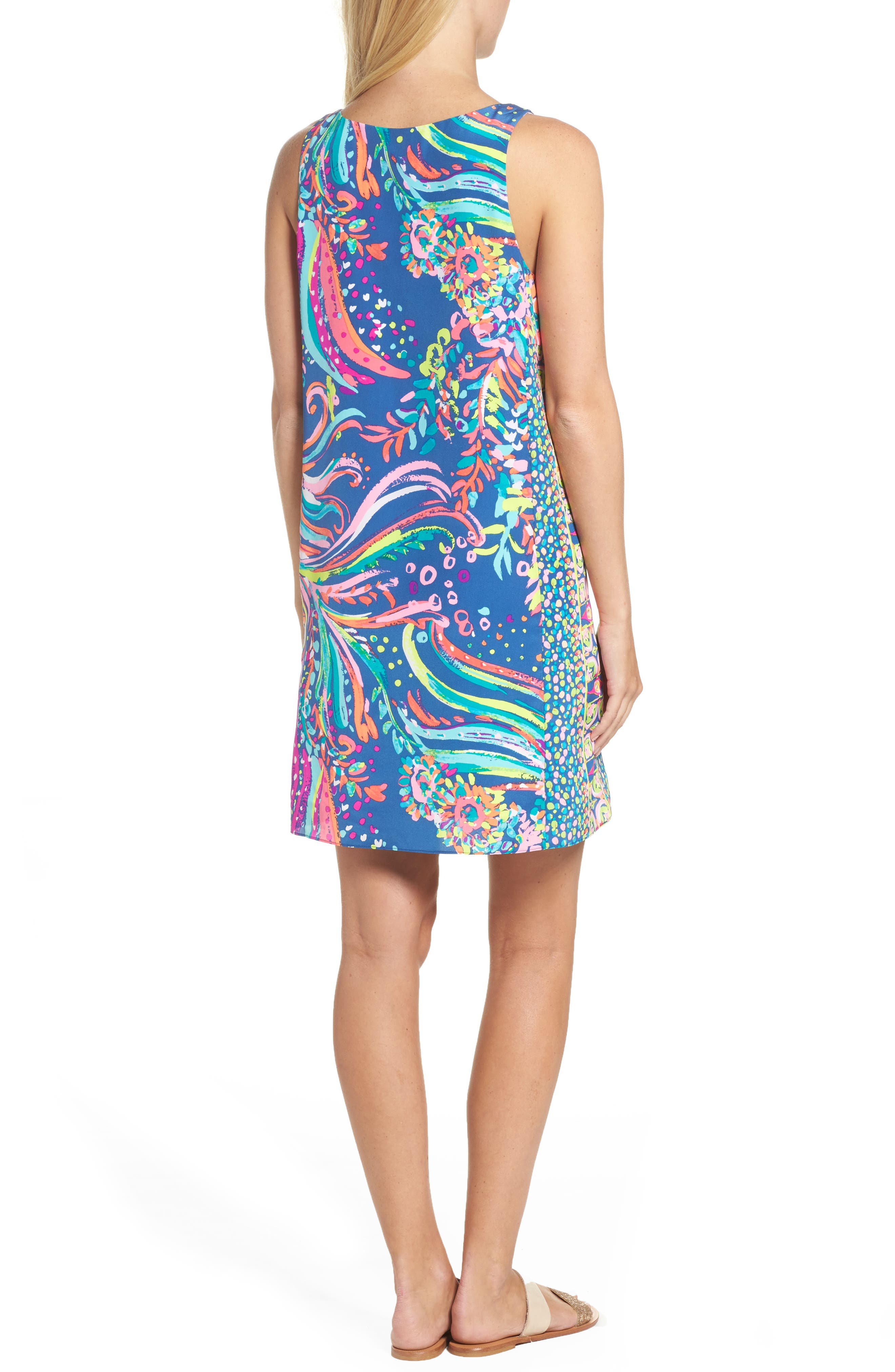 Alternate Image 2  - Lilly Pulitzer® Jackie Silk Shift Dress
